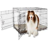 "You & Me 2-Door Folding Dog Crate, 36"" L x 23"" W x 24"" H"