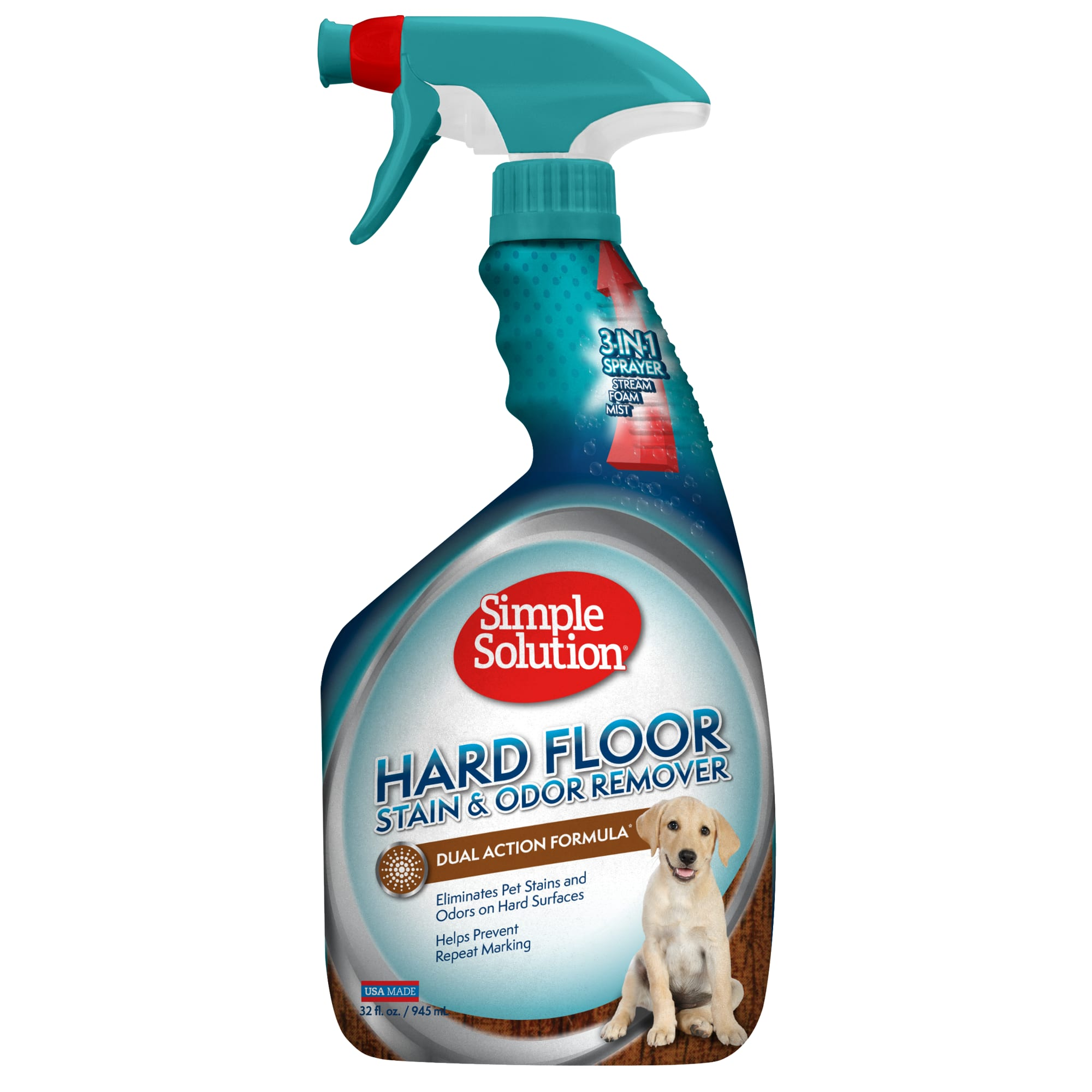 Simple Solution Hardfloor Pet Stain Odor Remover With New Multi