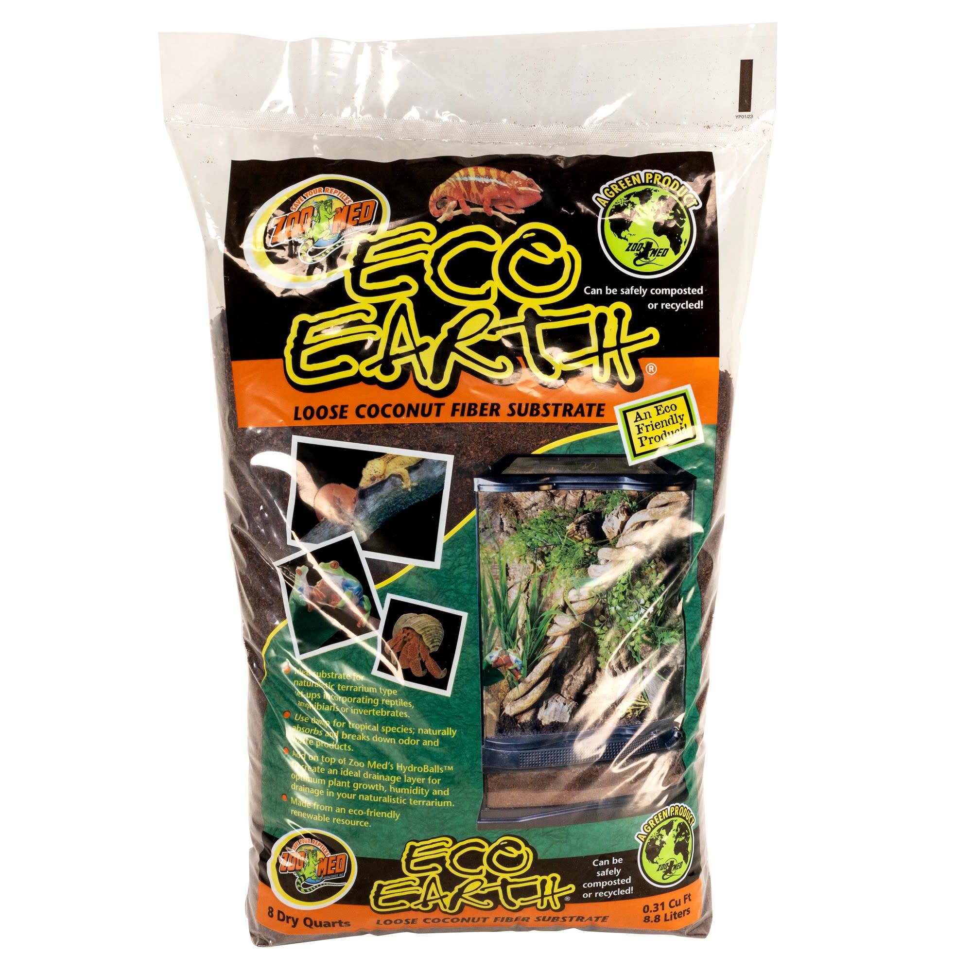 Zoo Med Eco Earth Loose Coconut Fiber Substrate Petco