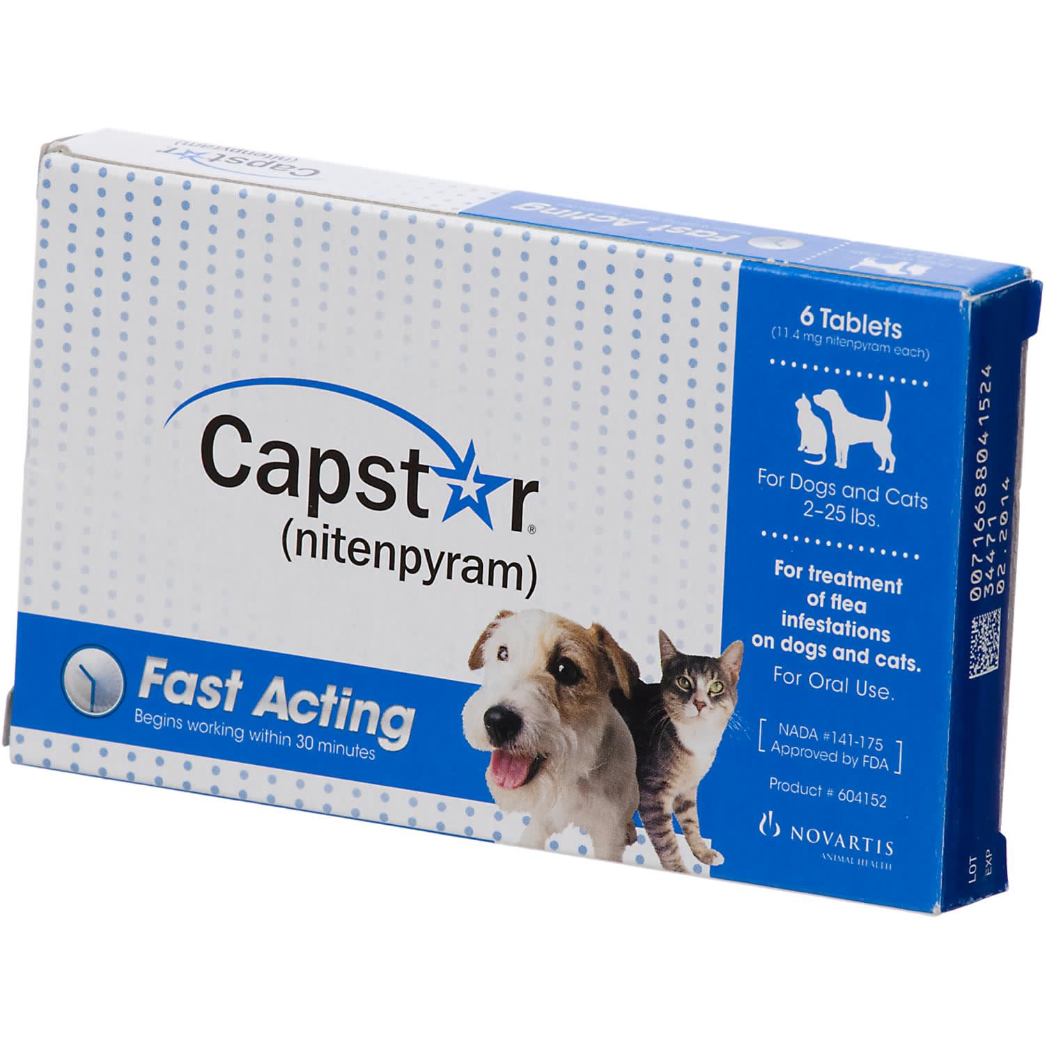 Capstar Flea Tablets For Dogs And Cats 2 25 Lbs Petco