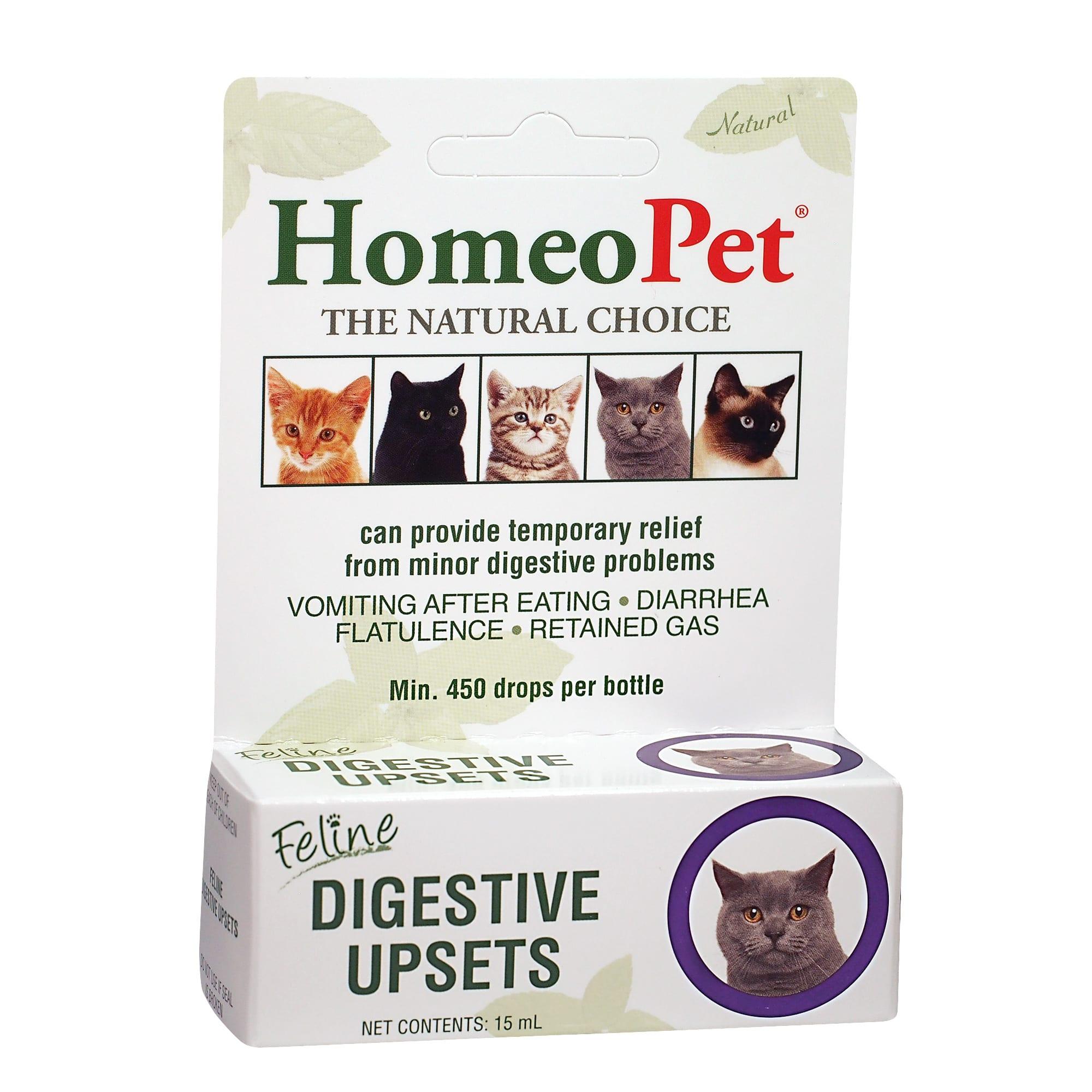 Homeopet Feline Digestive Upsets 15 Ml Petco