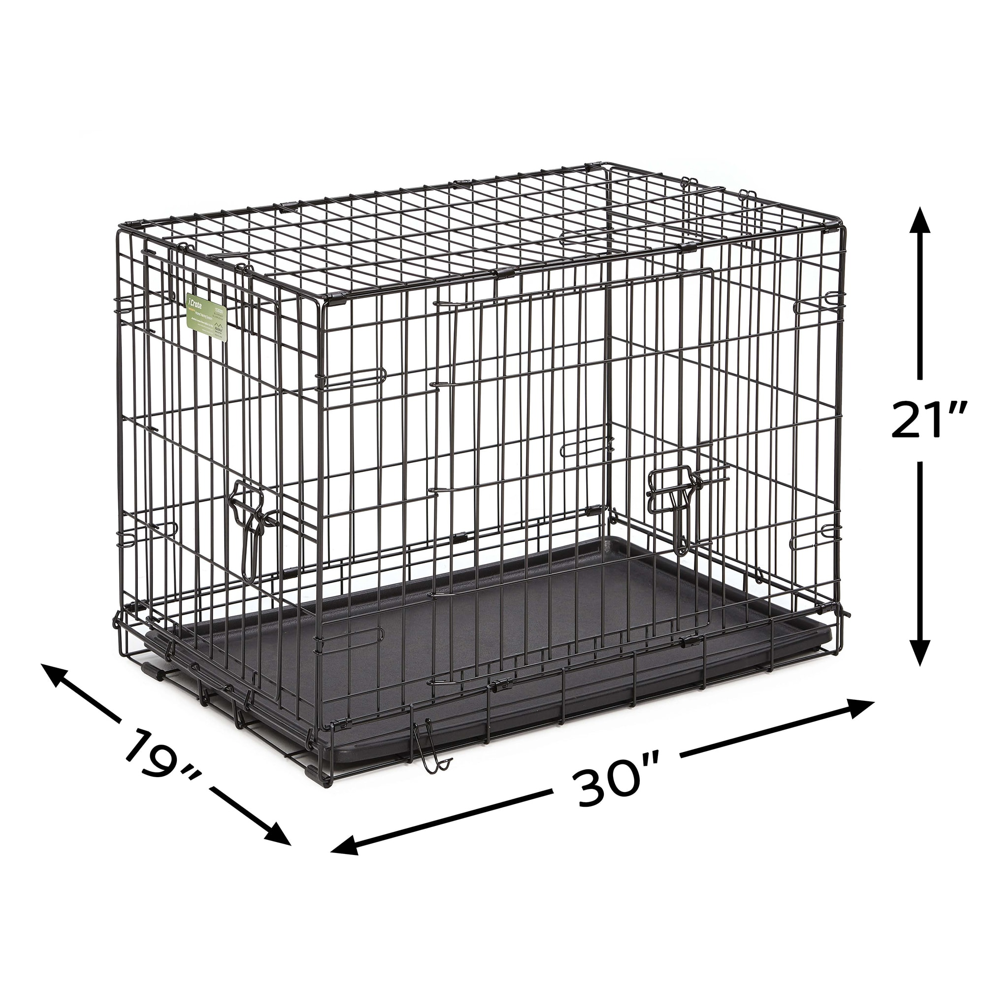 Midwest-iCrate-Double-Door-Folding-Dog-Crates thumbnail 11