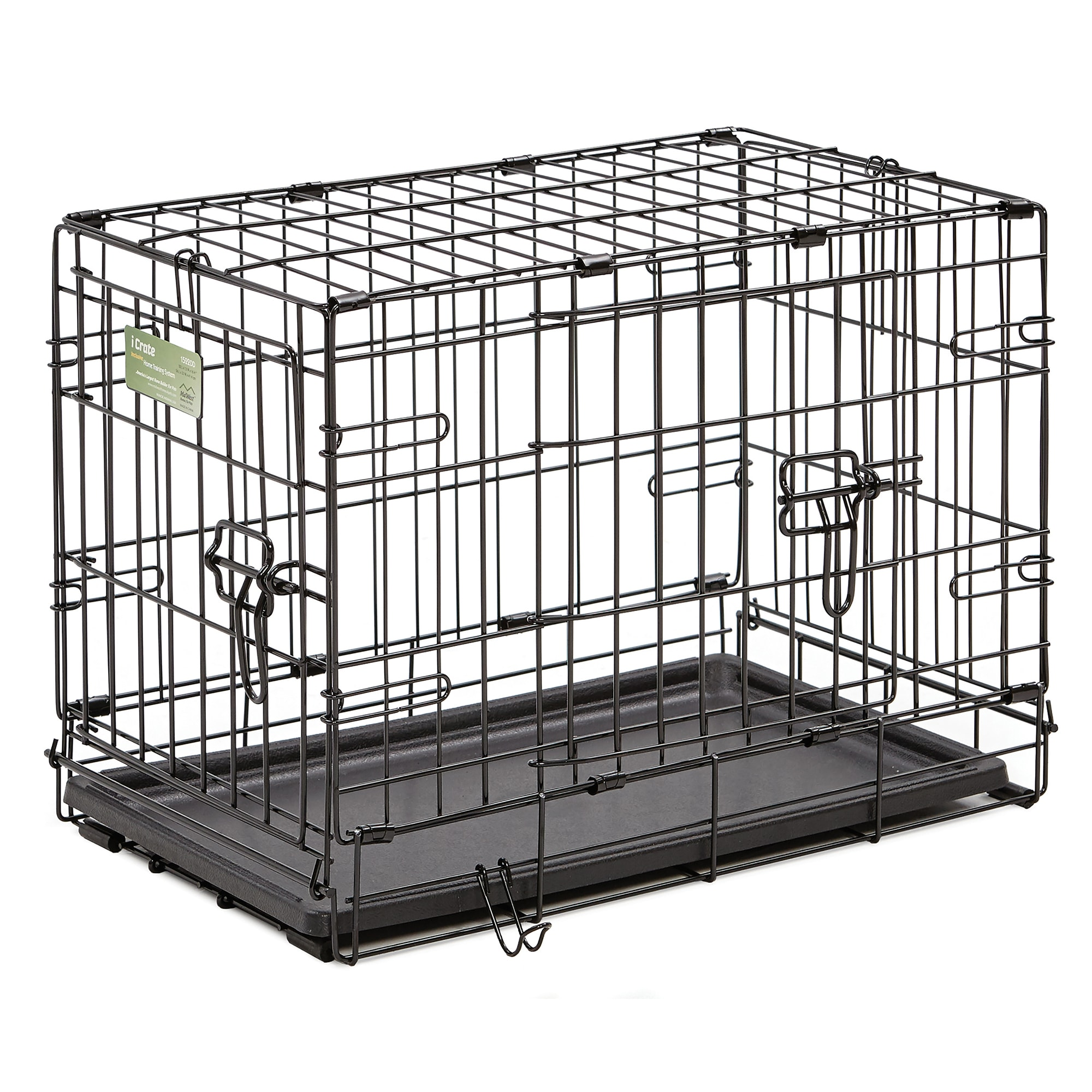 Midwest-iCrate-Double-Door-Folding-Dog-Crates thumbnail 18