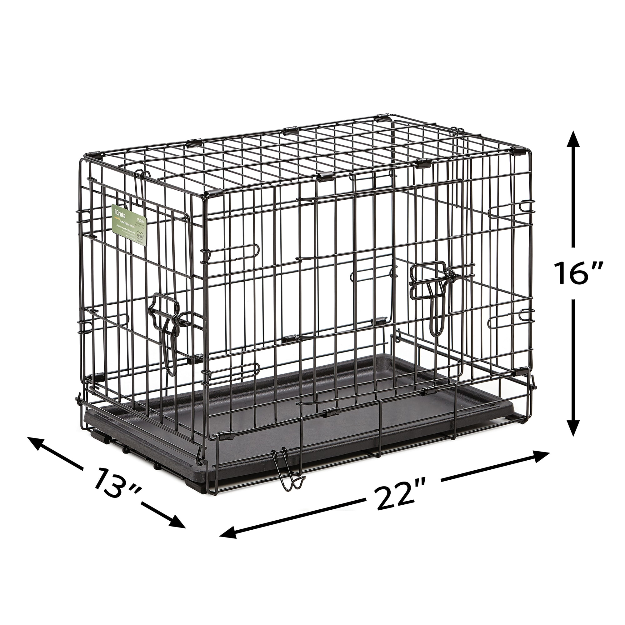 Midwest-iCrate-Double-Door-Folding-Dog-Crates thumbnail 19