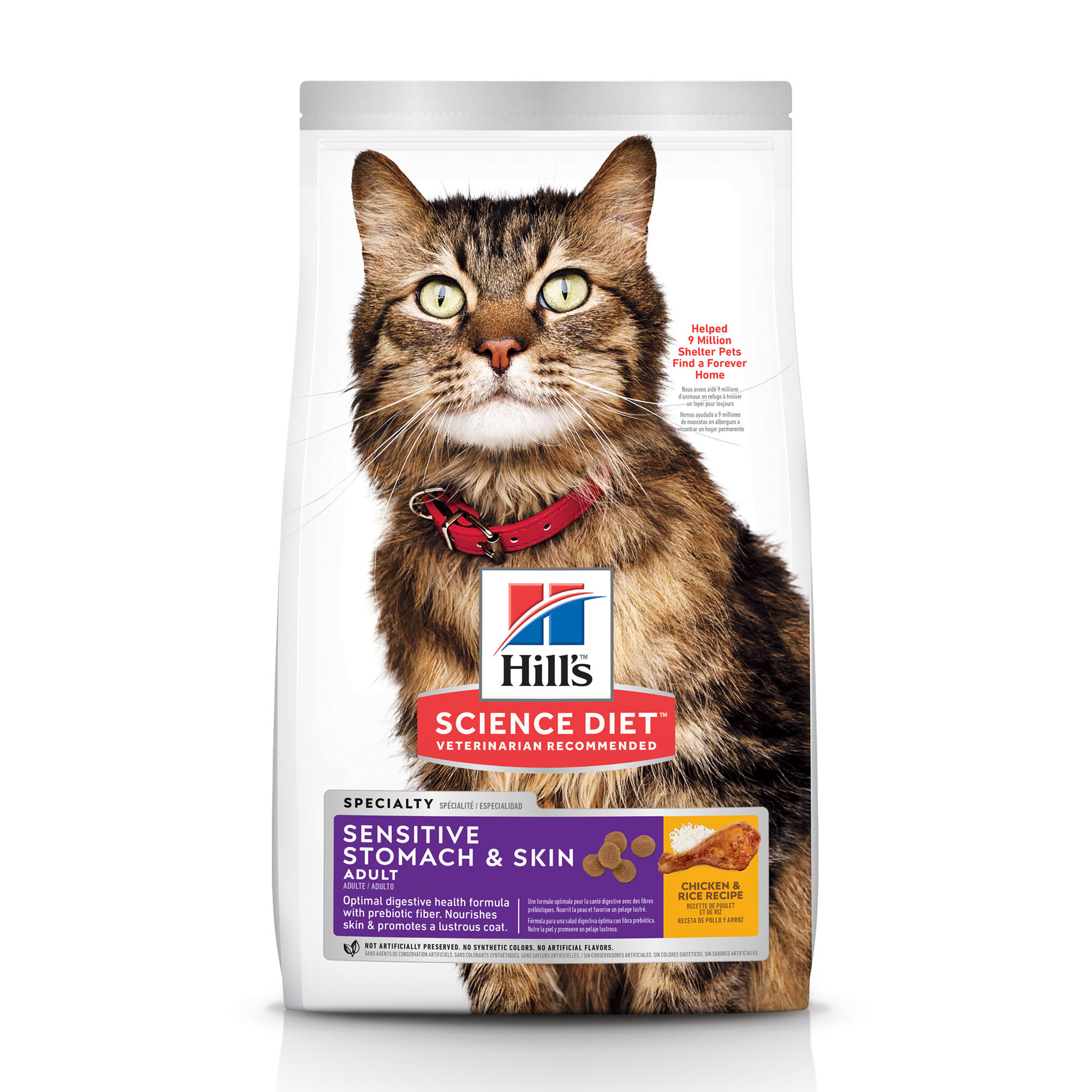 cat food for cats with allergies