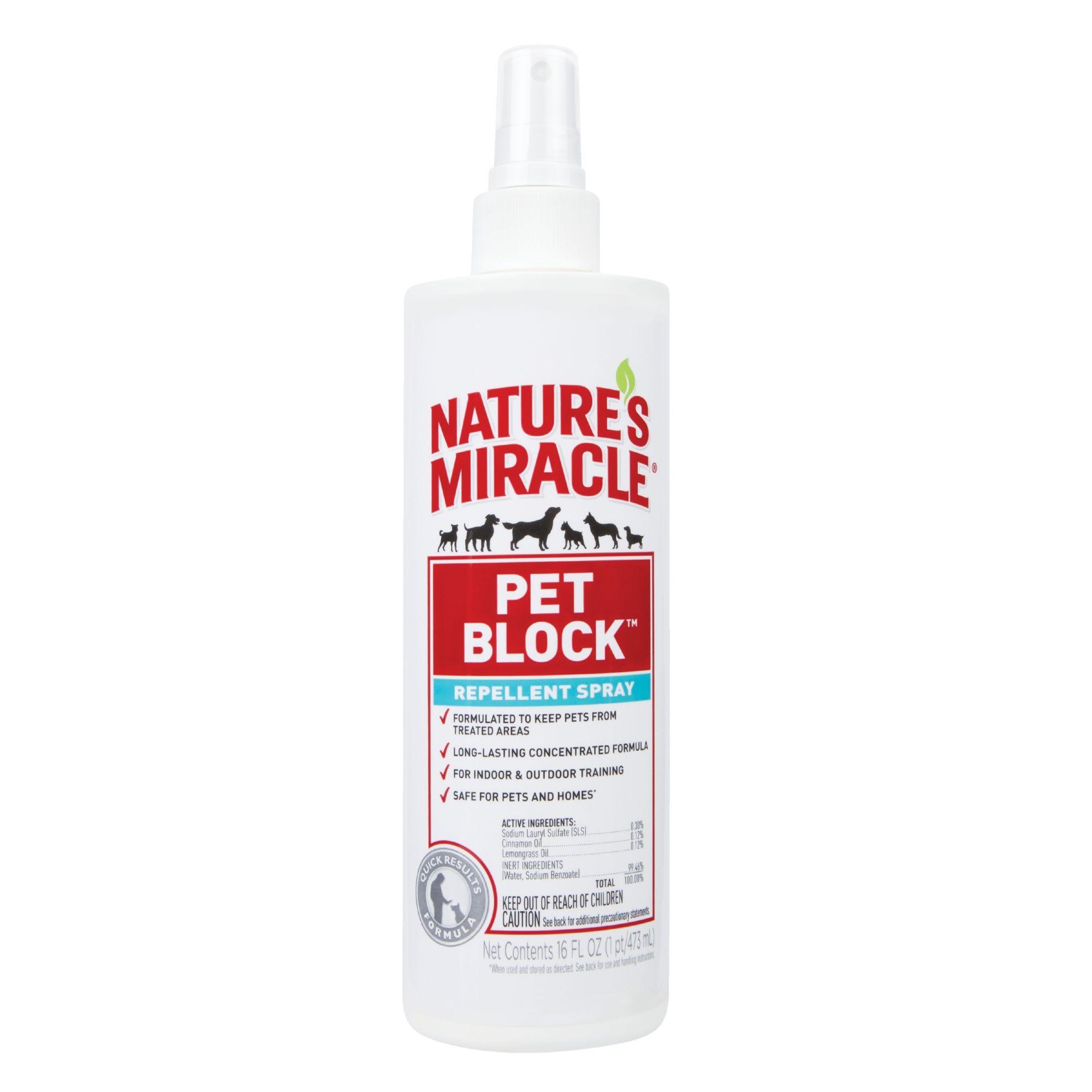 Miracle Pet Block Repellent Spray