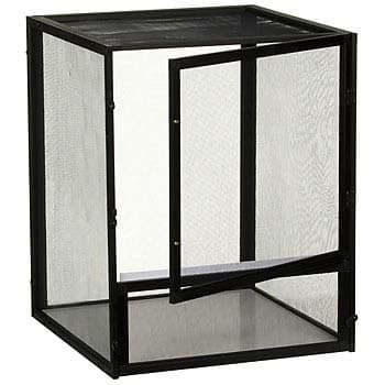Zoo Med ReptiBreeze Open Air Screen Cage Small 16x16x20-Inch