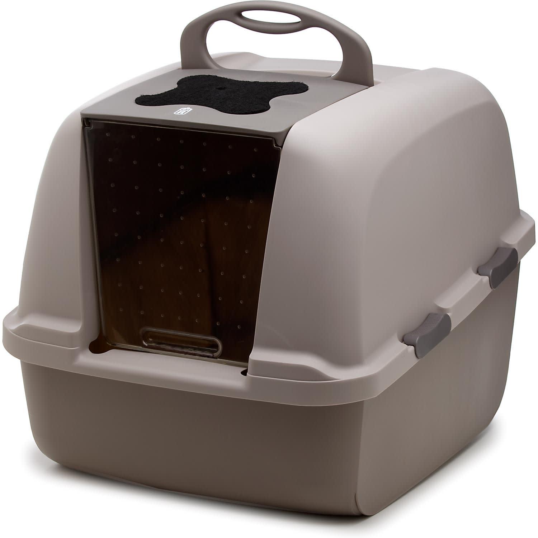 Catit Hooded Litter Box Jumbo Petco
