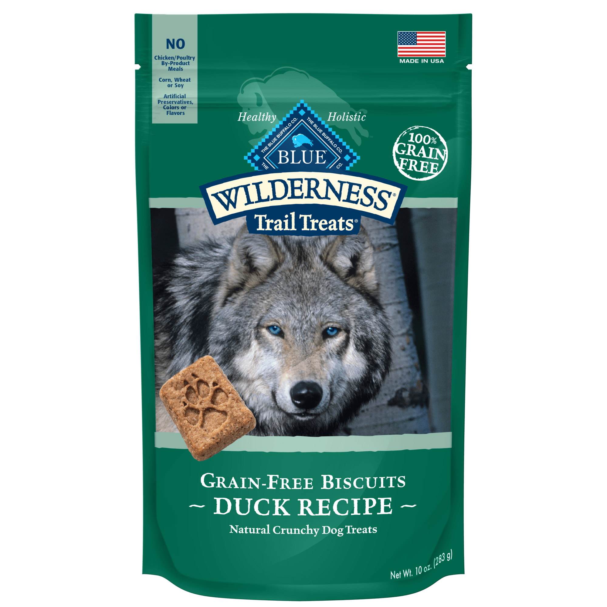 Blue Buffalo Blue Wilderness Trail Treats Duck Biscuits Dog Treats 10 Oz Petco