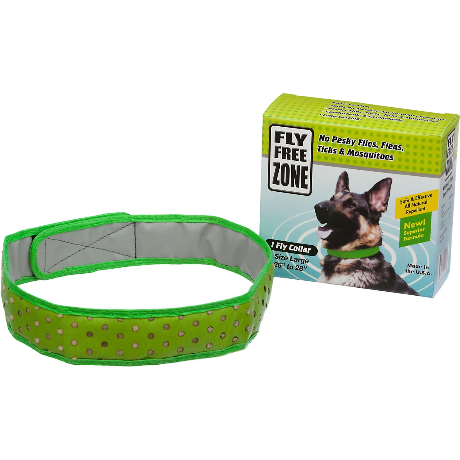 Fly Free Zone Natural Repellent Dog