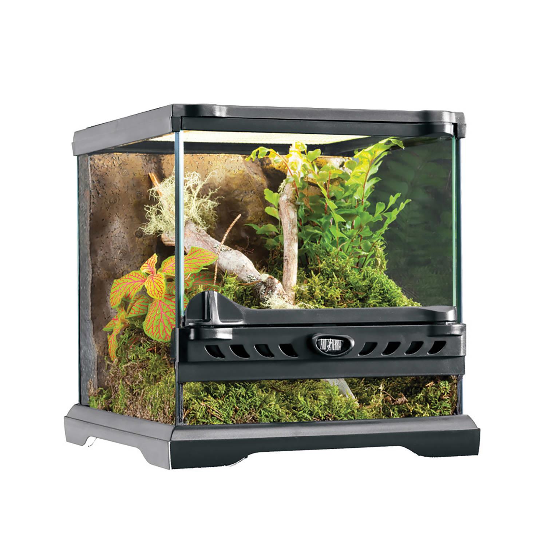Exo Terra Nano Glass Terrarium 8 L X 8 W X 8 H Petco