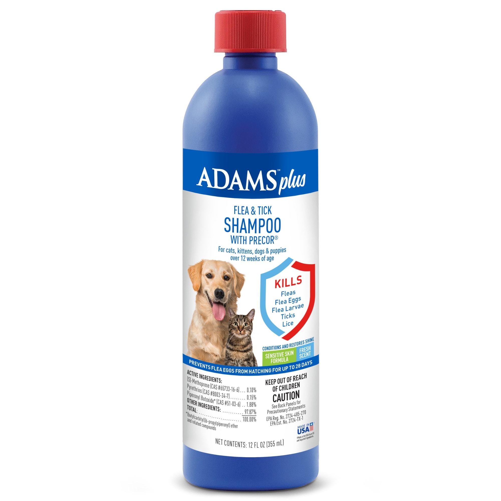 Adams Plus Flea & Tick Shampoo with