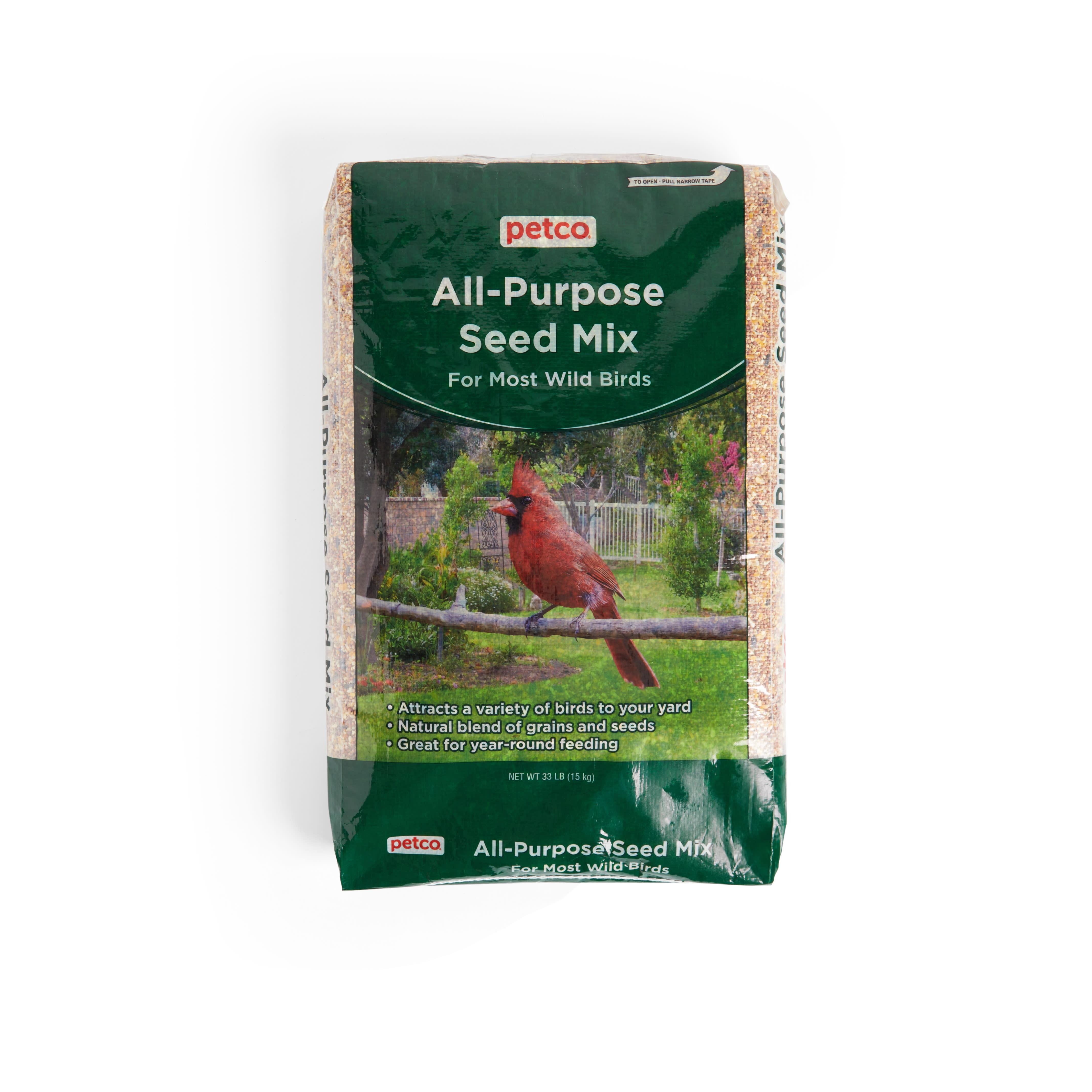 Wild Bird Seed Feeder And Seed Mix