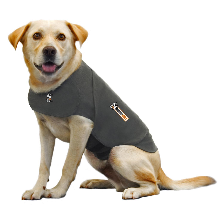 Dog Anxiety Thundershirt Jacket Size Shirt Grey Insanely Gray Lbs small medium L