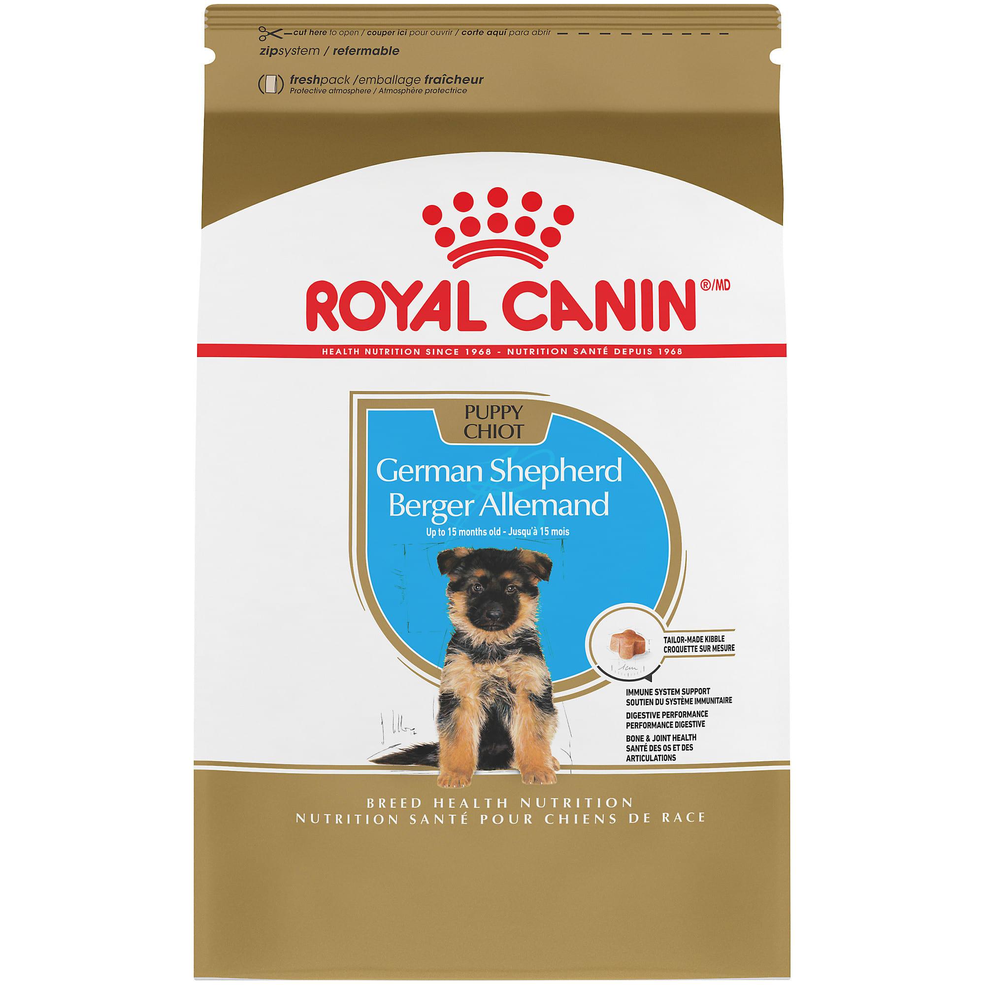 Royal Canin Breed Health Nutrition German Shepherd Puppy Dry Dog Food 30 Lbs Petco