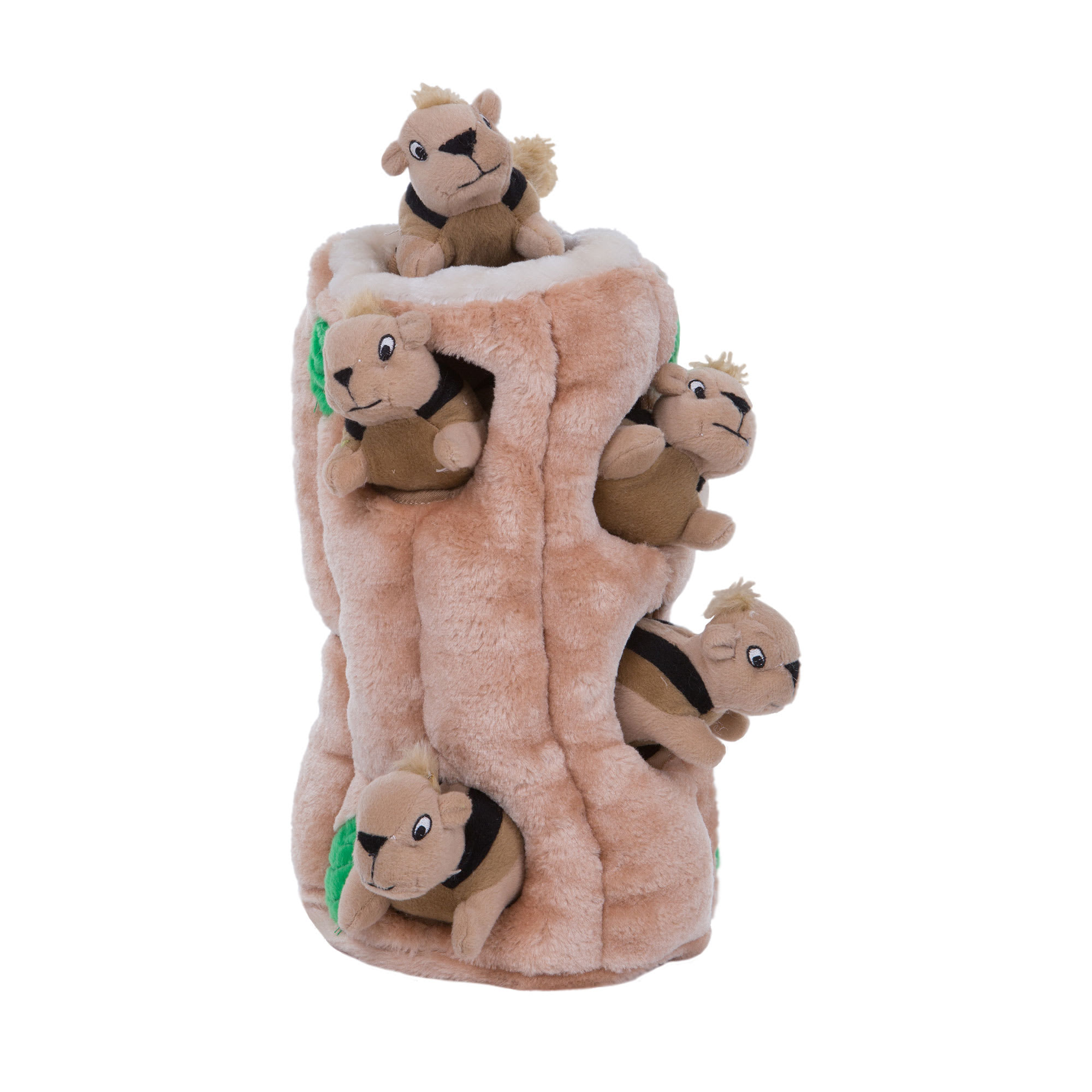 Outward Hound Plush Puppies HIDE A SQUIRREL Dog Puzzle Problem Solving Toy Large