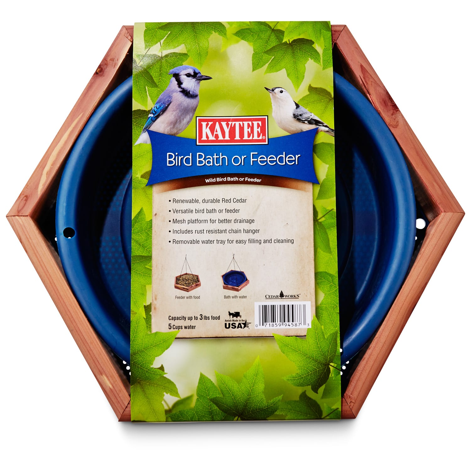 Kaytee Wild Bird Bath Or Feeder 13 Diameter Petco