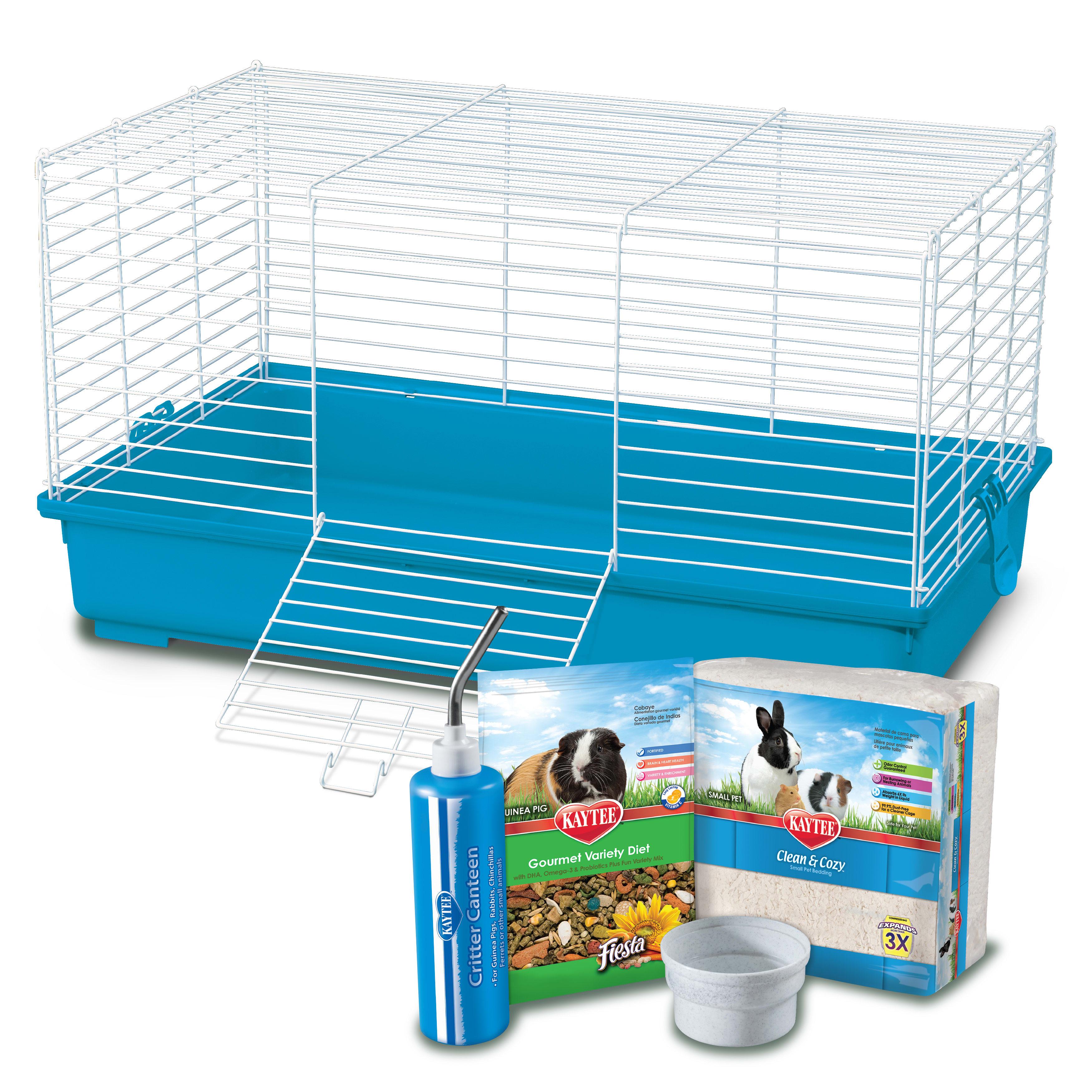 Kaytee My First Home Guinea Pig Starter Kit 30 L X 18 W X 16 5