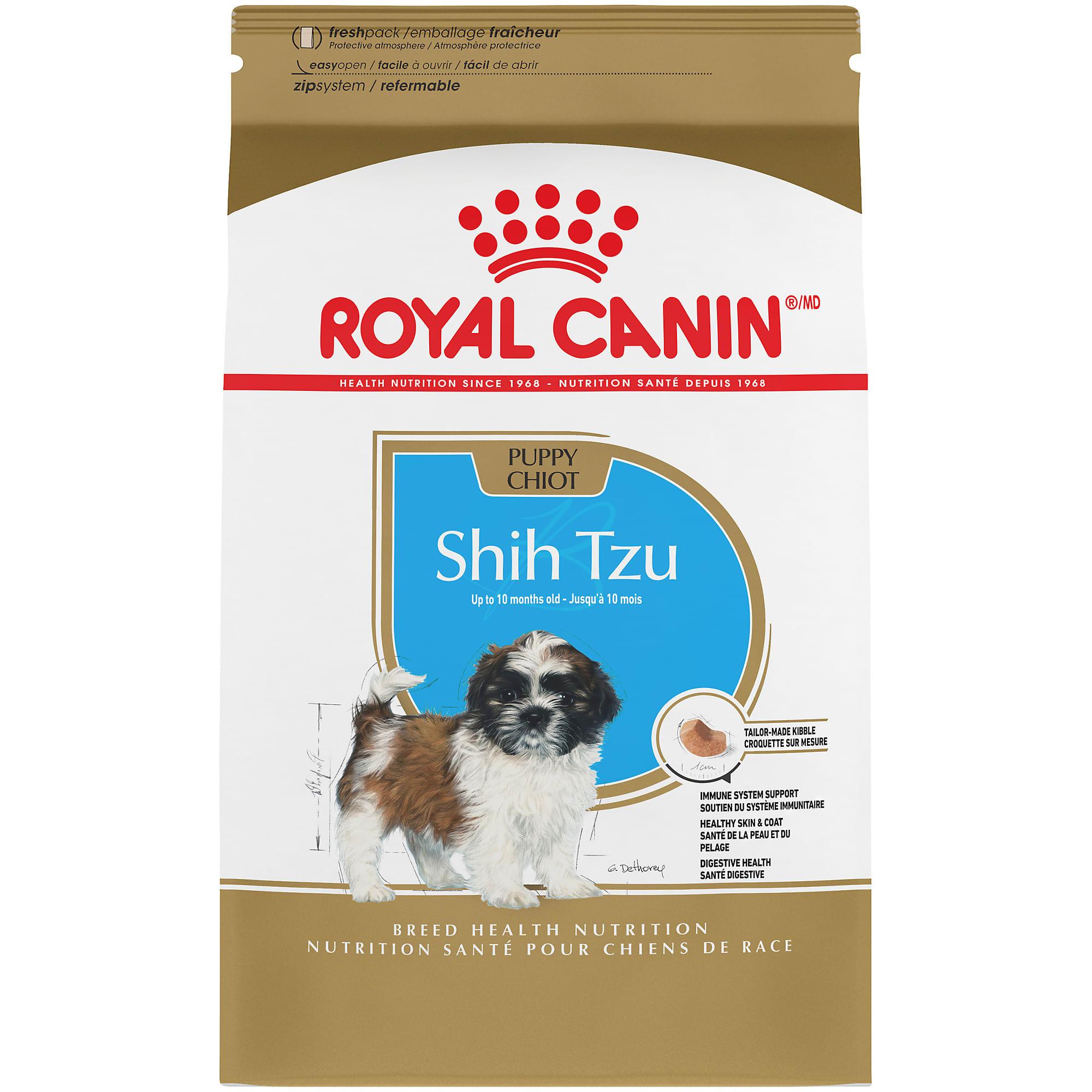Royal Canin Breed Health Nutrition Shih Tzu Puppy Dry Dog Food 2 5 Lbs Petco