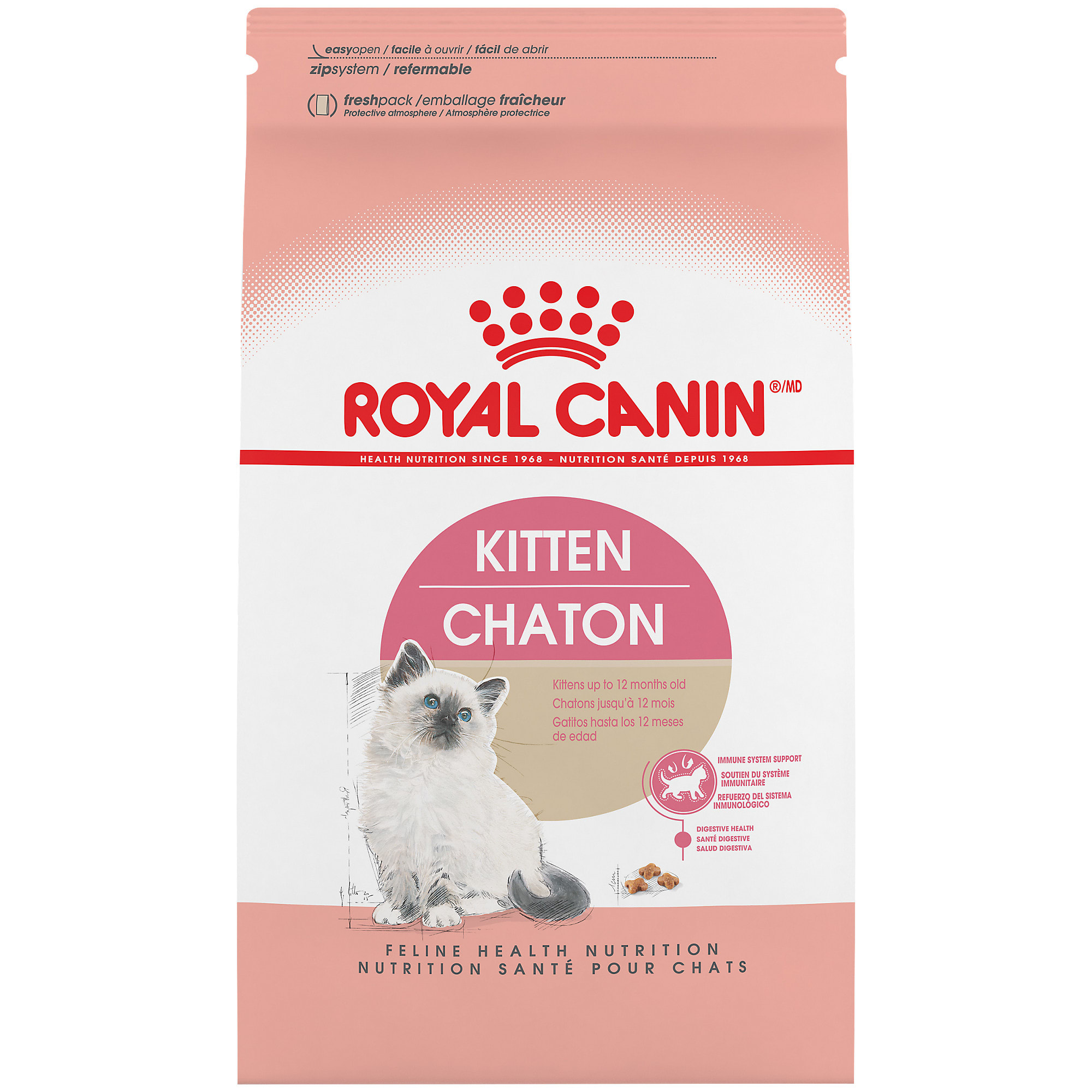 Royal Canin Feline Health Nutrition Dry Food For Young Kittens 15 Lbs Petco