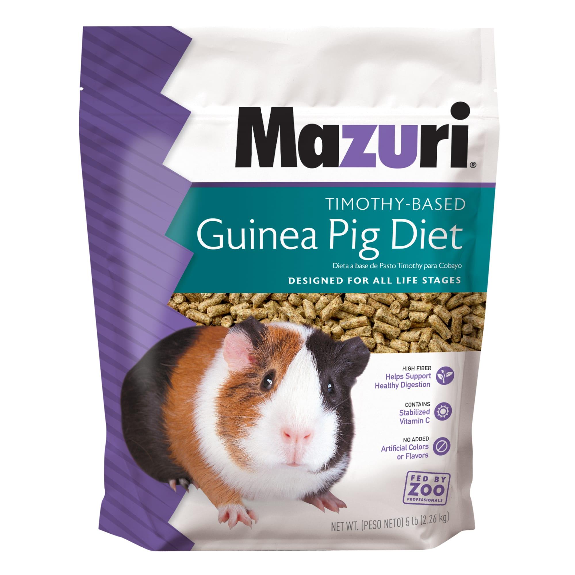Mazuri Timothy Based Guinea Pig Food 5 Lbs Petco