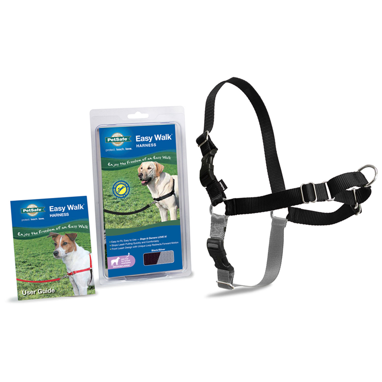Petsafe No Pull Harness Deluxe Easy Walk Dog Pet Sz Lg Black /& Green See Descrip