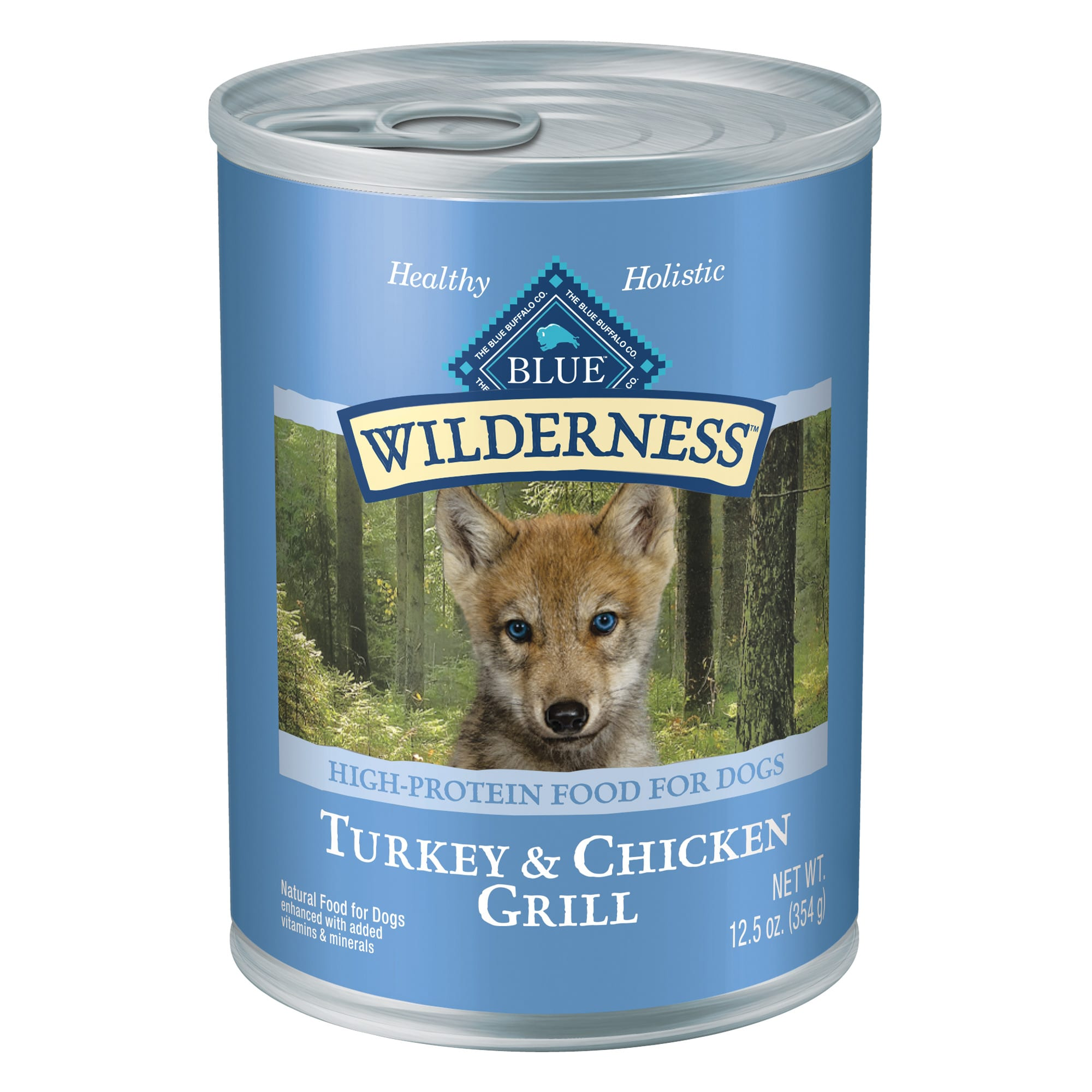 Blue Buffalo Blue Wilderness Puppy Turkey Chicken Grill Wet Dog Food 12 5 Oz Case Of 12 Petco