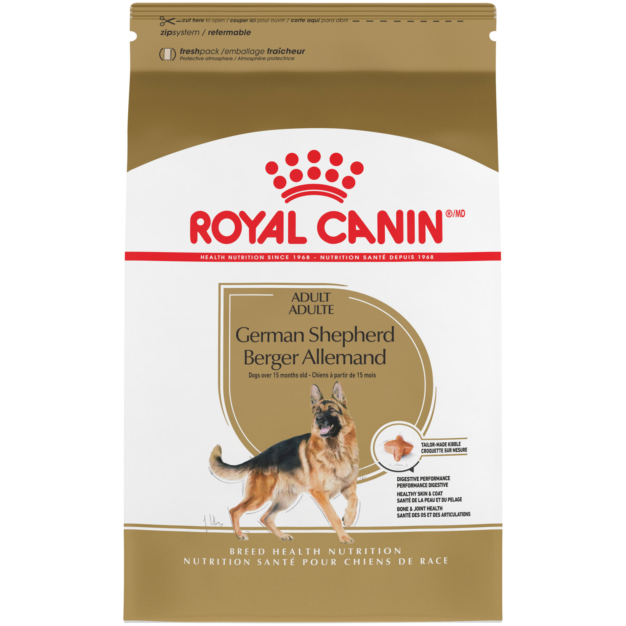 Royal Canin Breed Health Nutrition German Shepherd Adult Dry Dog Food 30 Lbs Petco