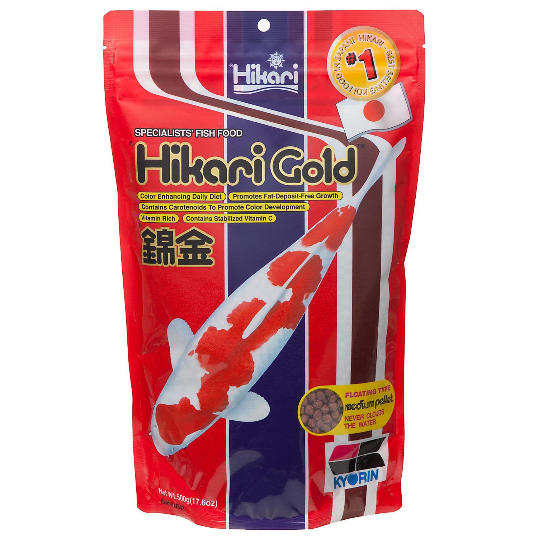 Hikari 17 6z Gold Koi Medium Pellets Petco