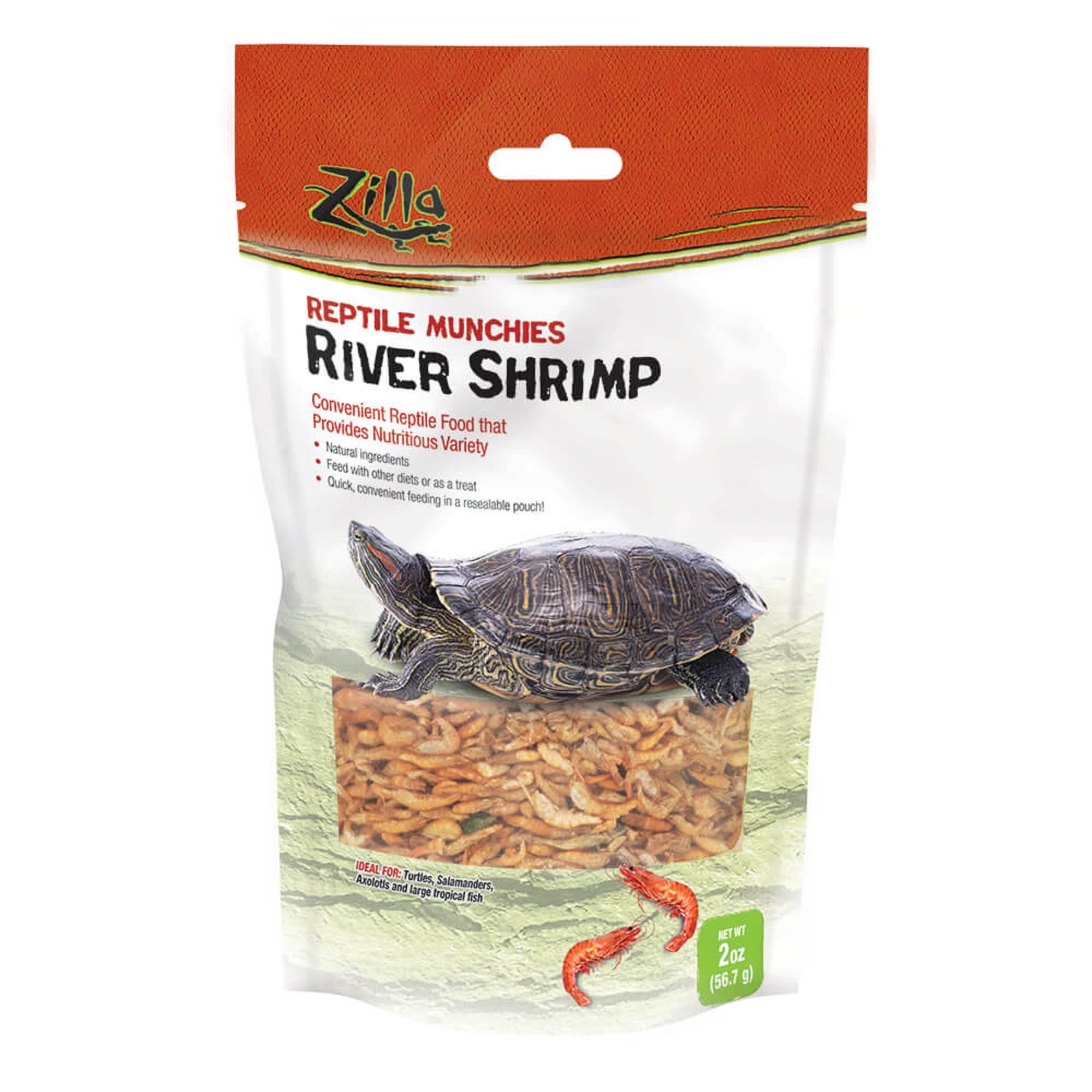 Zilla Munchies River Shrimp Reptile Food 2 Oz Petco