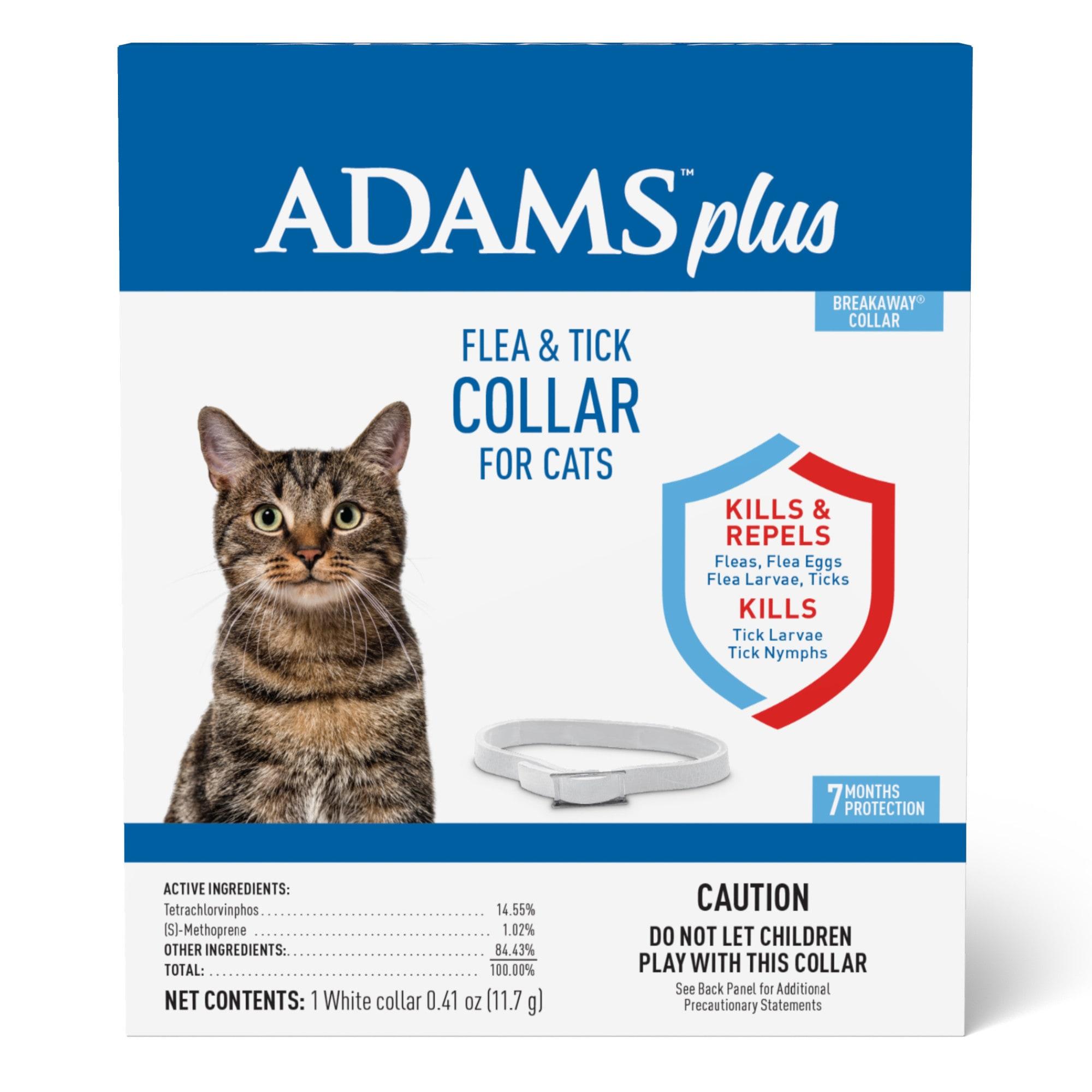 collar kills fleas, flea eggs and larvae