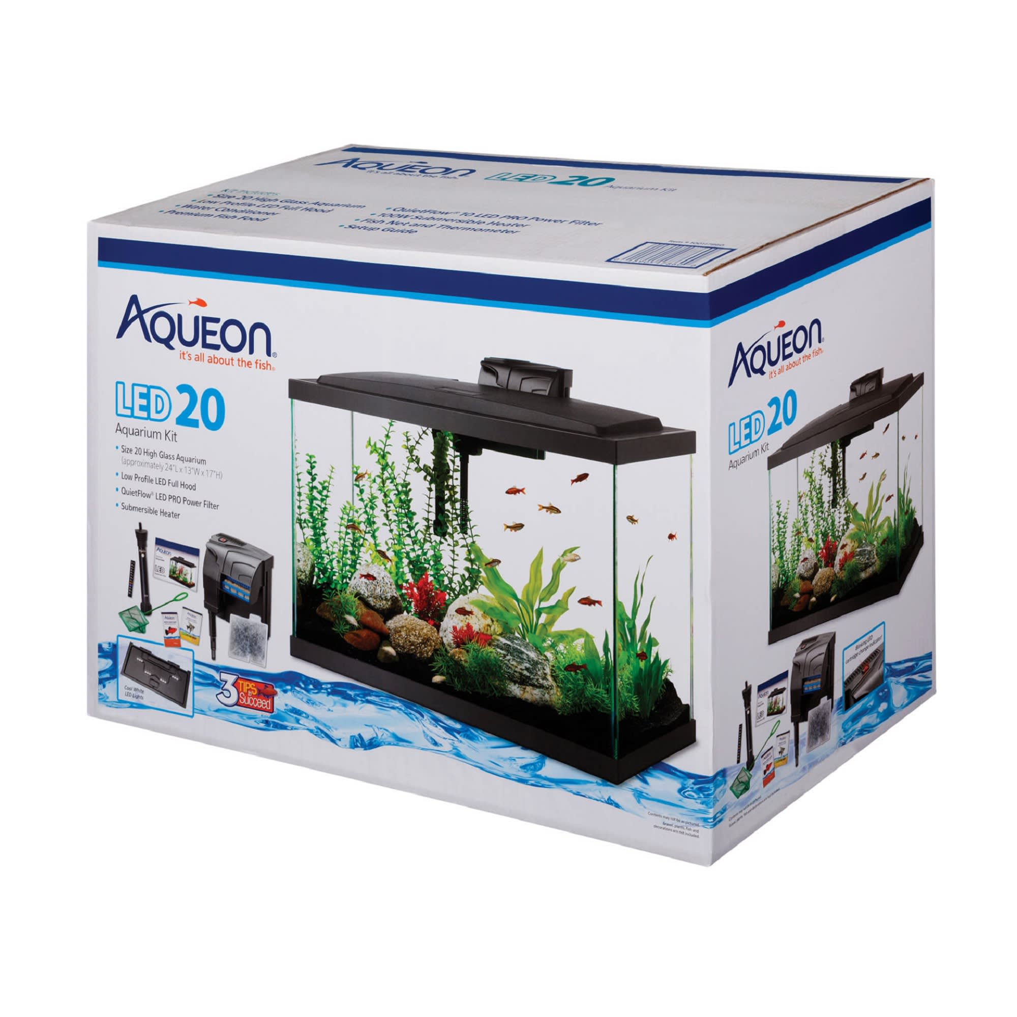Aqueon Led Aquarium Kit 20 Gallon High Petco