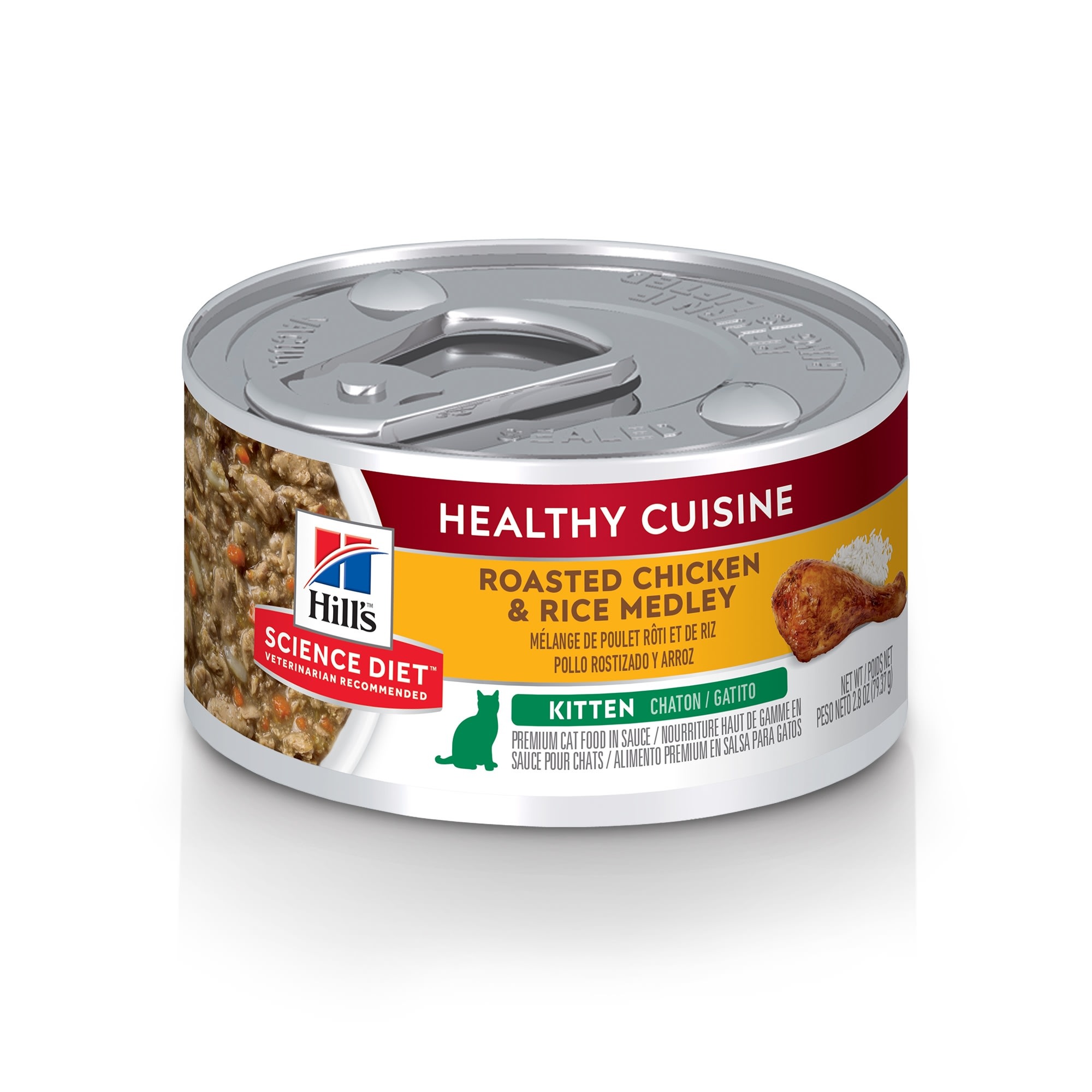 hills science diet canned cat food pate