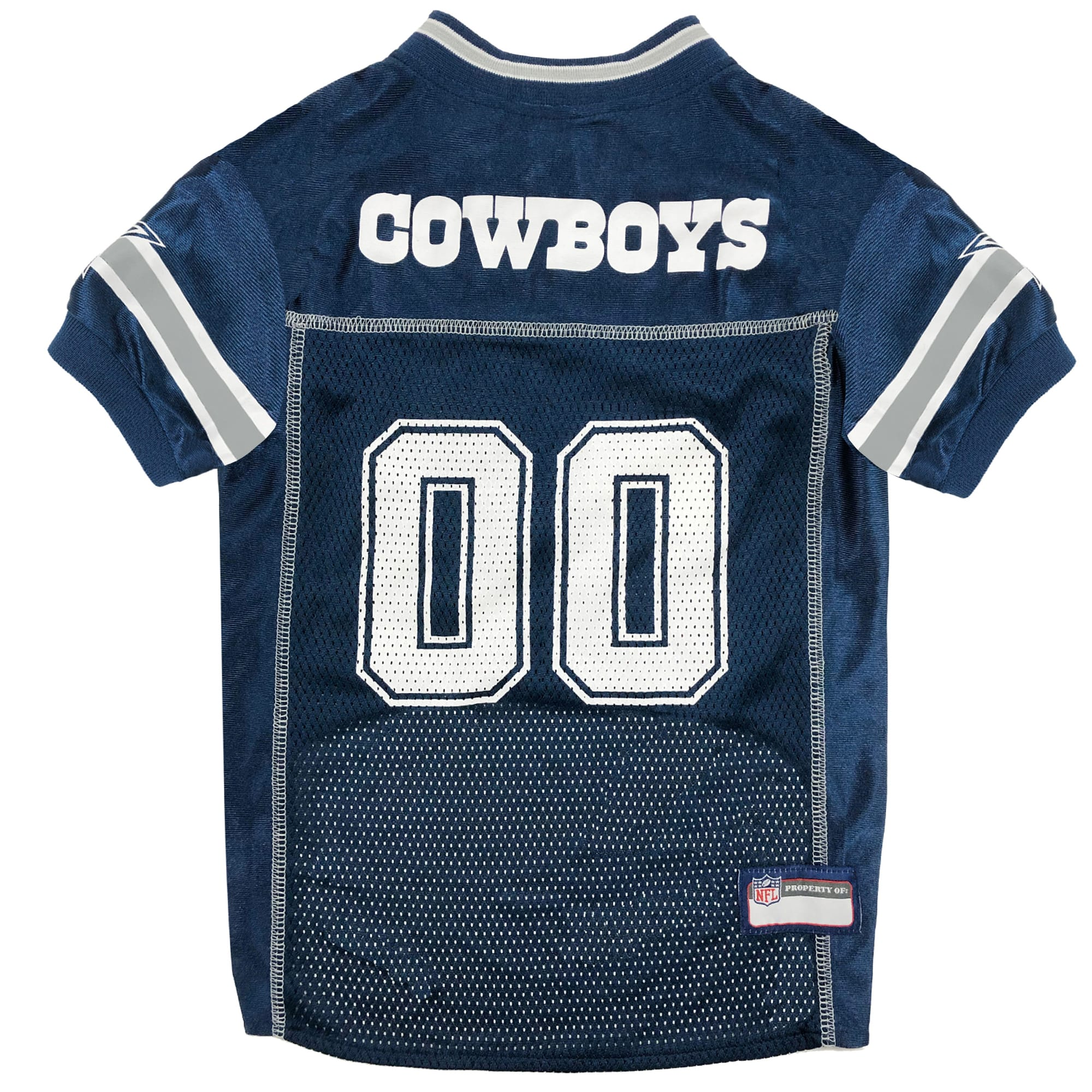 Pets First Dallas Cowboys NFL Mesh Pet Jersey, X-Small