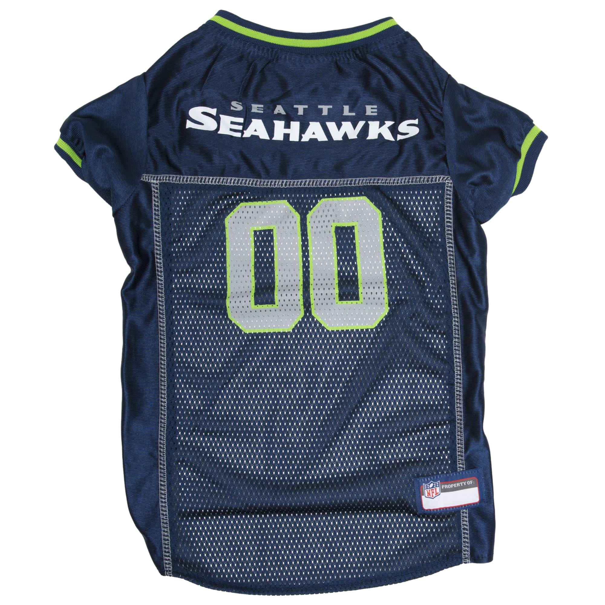 Pets First Seattle Seahawks NFL Mesh Pet Jersey, X-Small