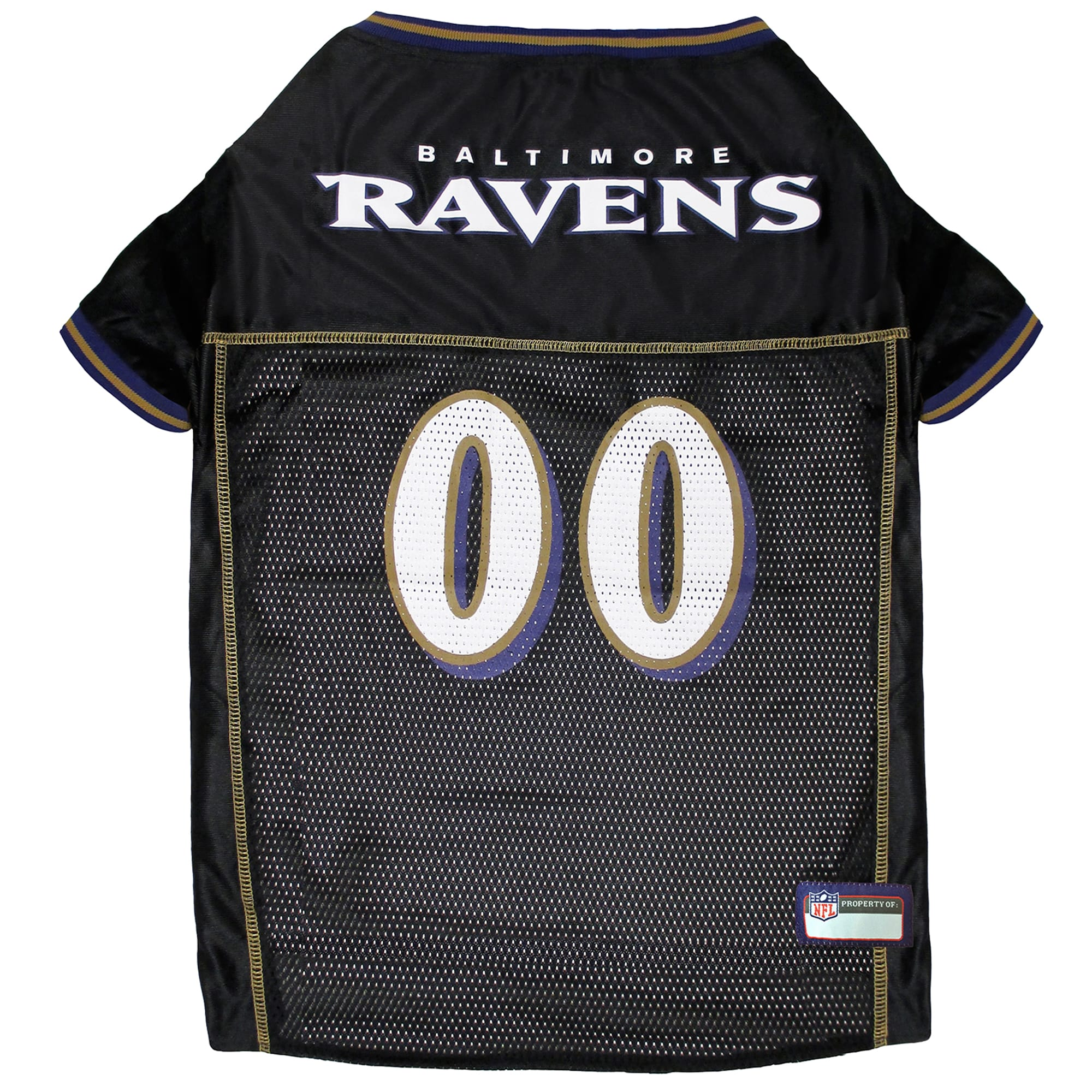 Pets First Baltimore Ravens Nfl Mesh Pet Jersey X Small Petco