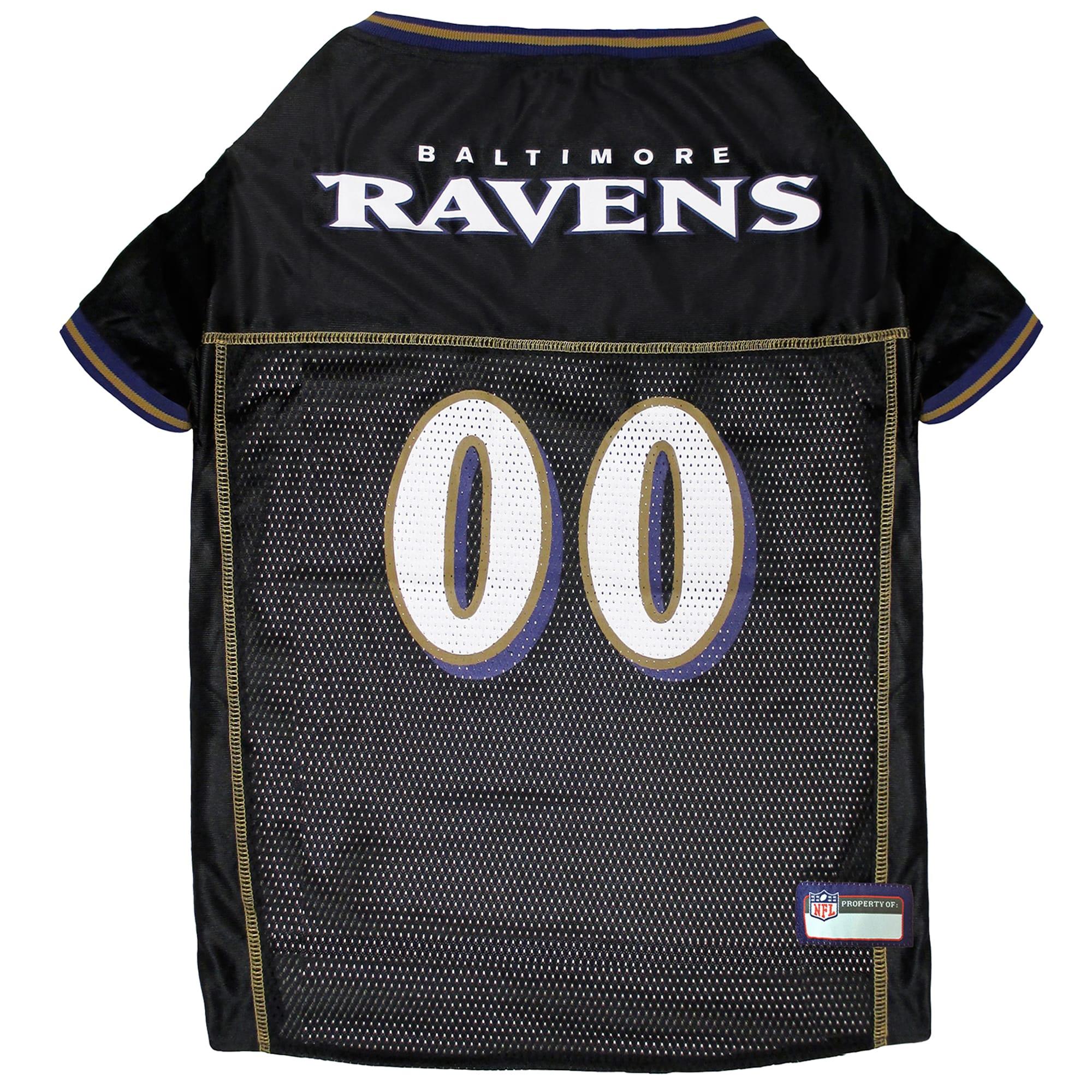 Pets First Baltimore Ravens NFL Mesh Pet Jersey, X-Small