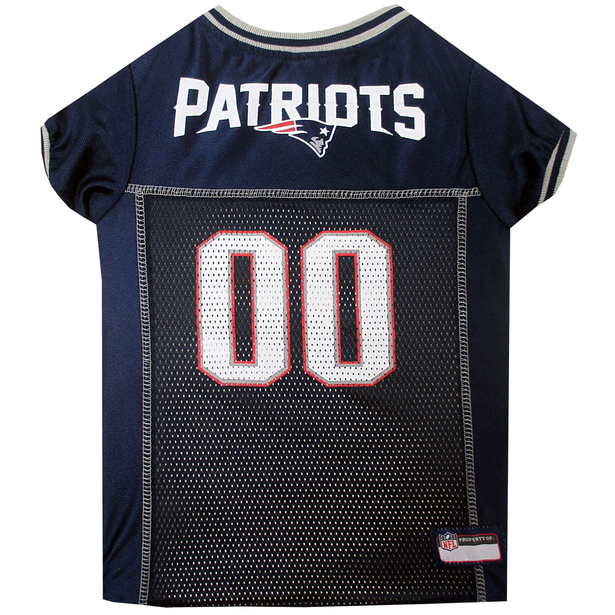 Pets First New England Patriots Nfl Mesh Pet Jersey X Small Petco