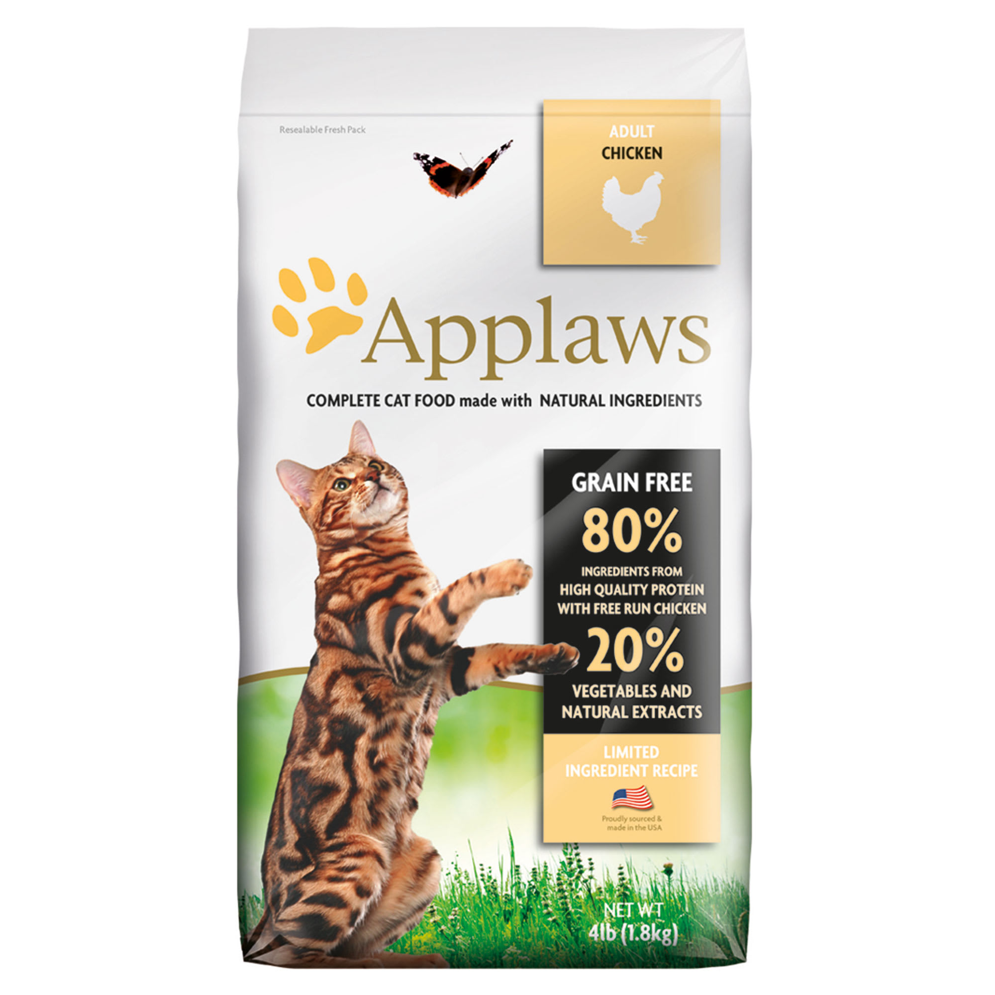 Applaws Chicken Grain Free Dry Cat Food 4 Lbs Petco