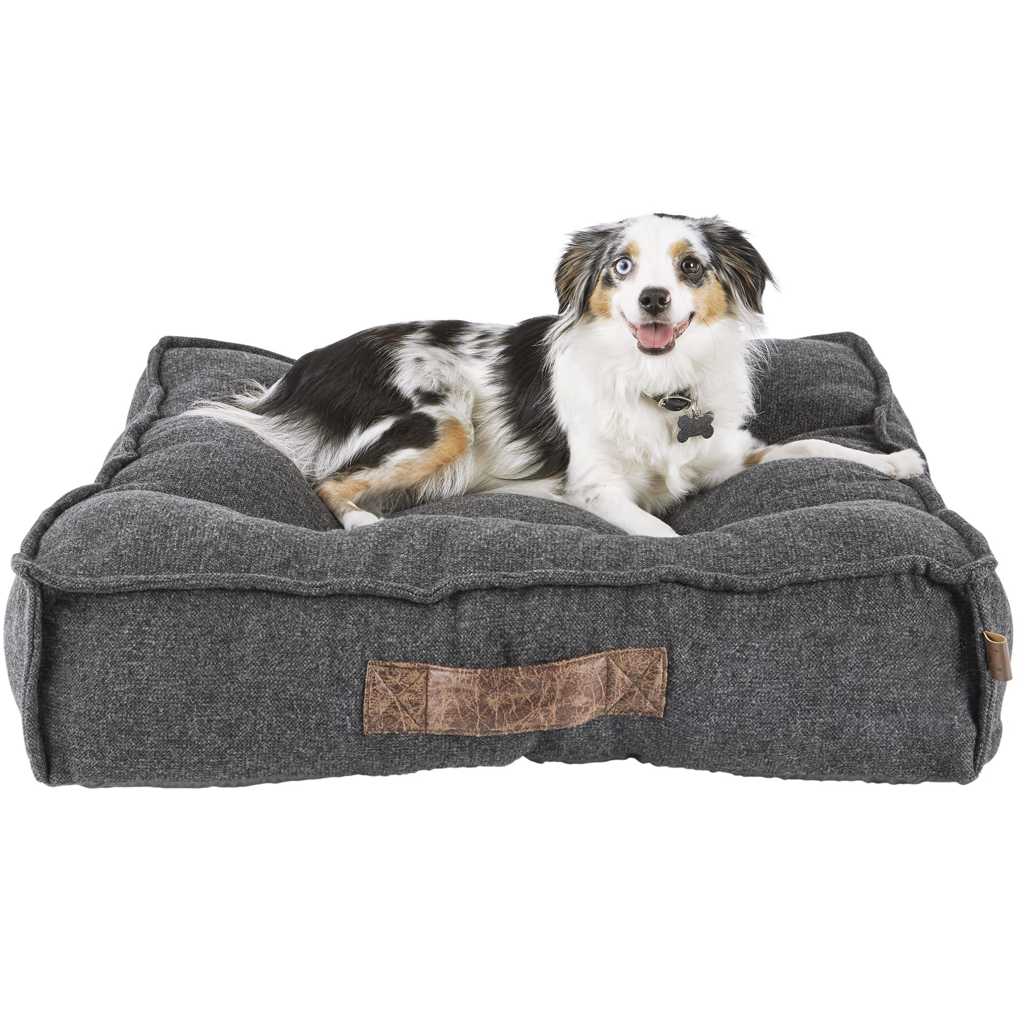 Harmony Grey Lounger Memory Foam Dog Bed 28 L X 28 W Petco