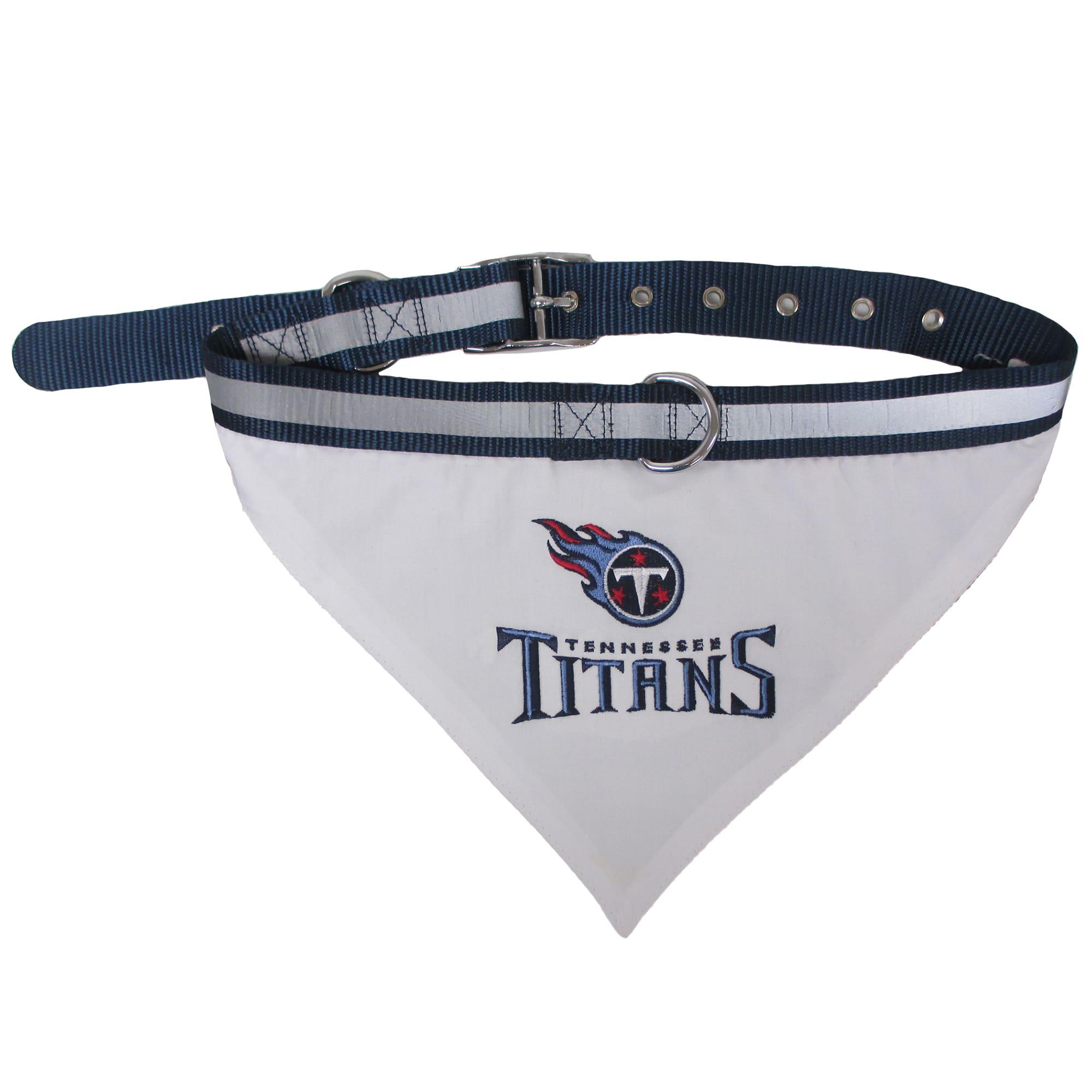 Medium NFL Tennessee Titans Team Pet Collar