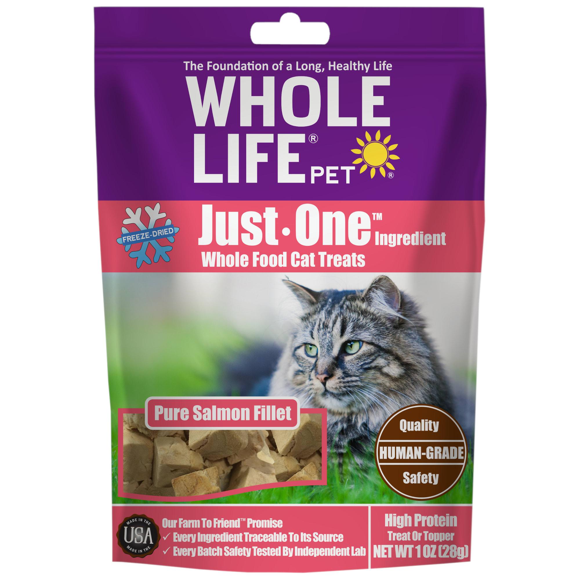 Whole Life Pet Pure Turkey Freeze Dried Cat Treats 1 Oz Petco