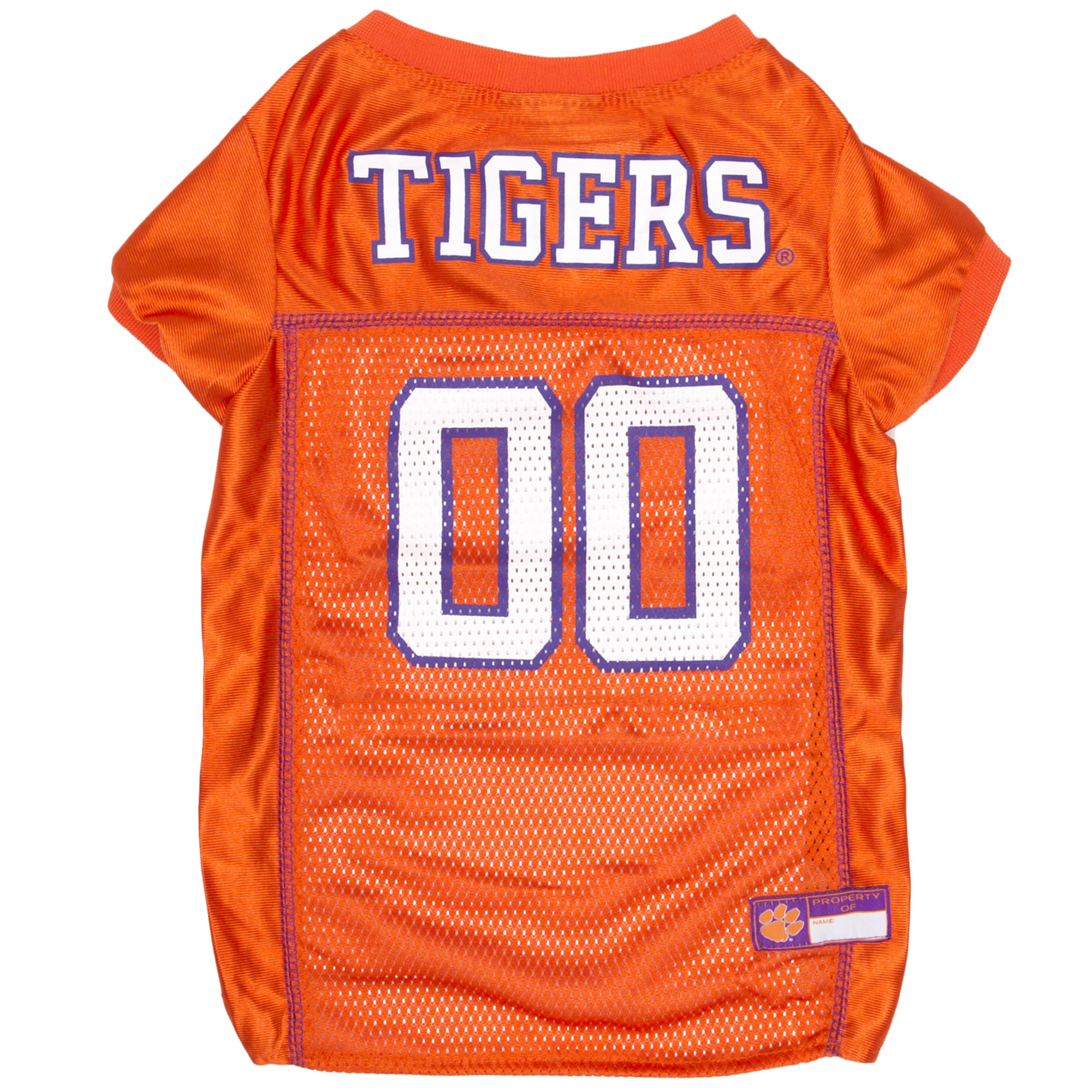 Pets First Clemson Tigers NCAA Mesh Jersey for Dogs, X-Small