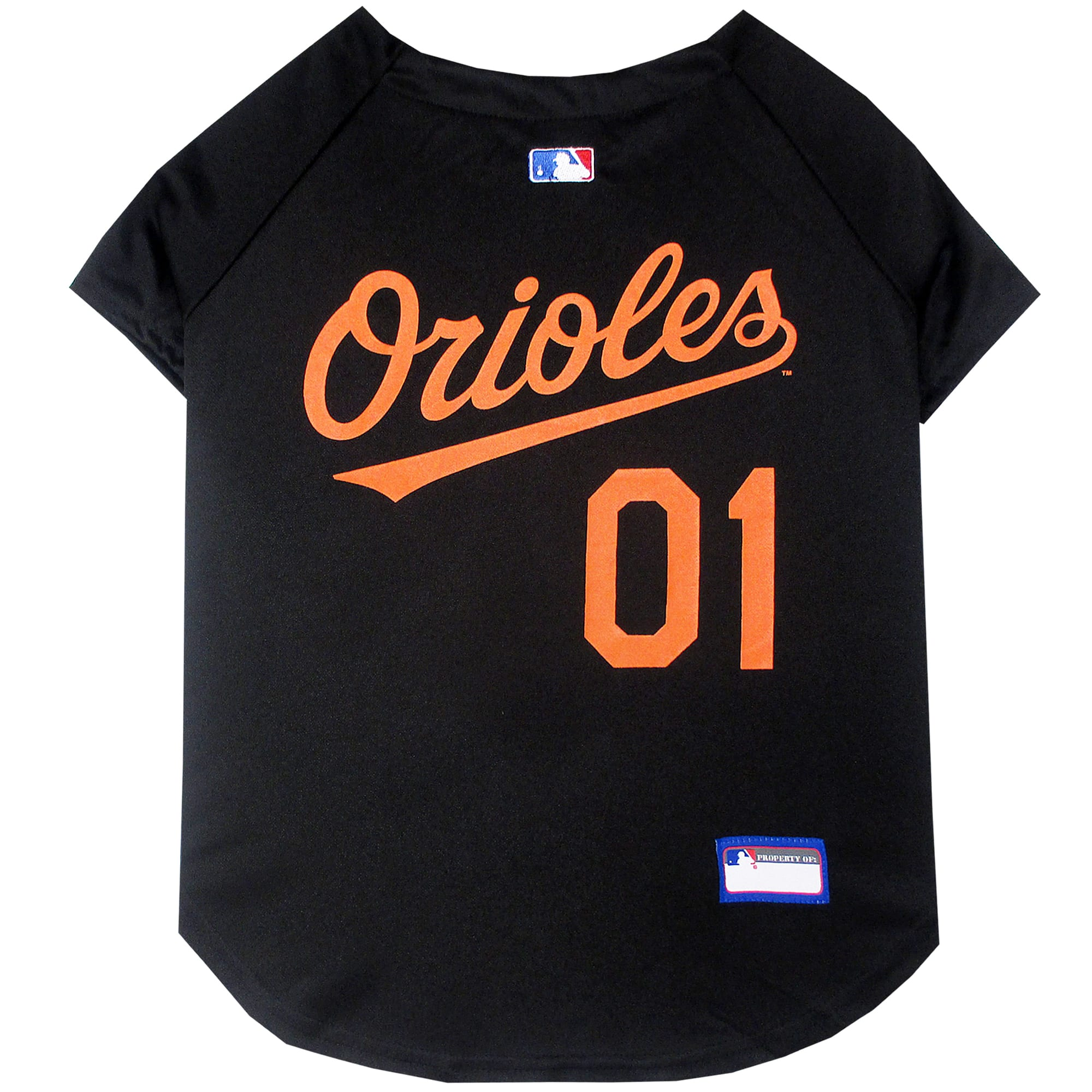 Image of Pets First Baltimore Orioles MLB Mesh Jersey, Medium, Multi-Color