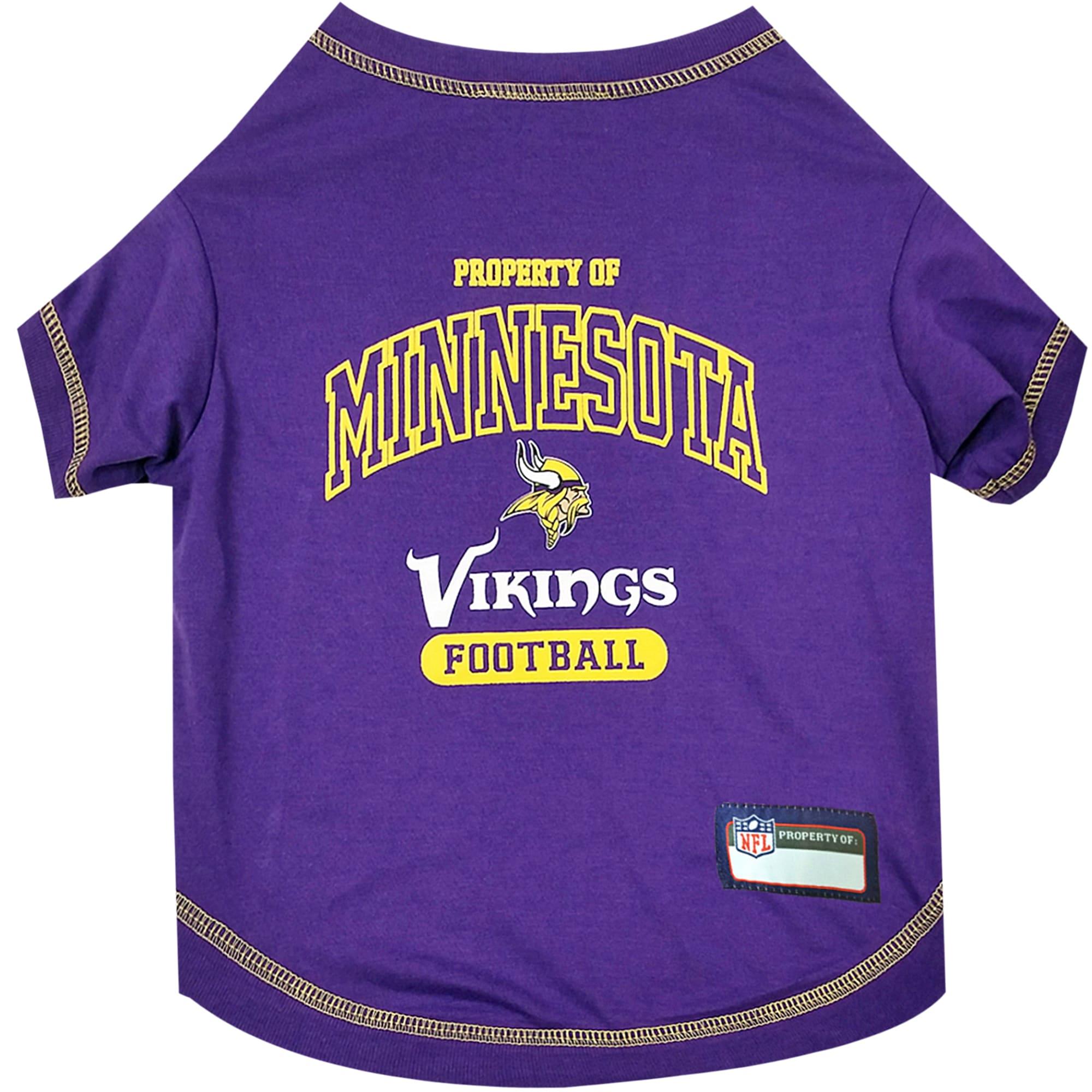 Pets First Minnesota Vikings T-Shirt, X-Small