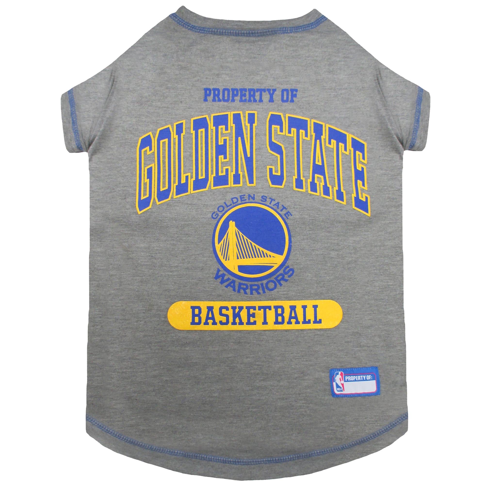Pets First Golden State Warriors T-Shirt, Medium   Petco