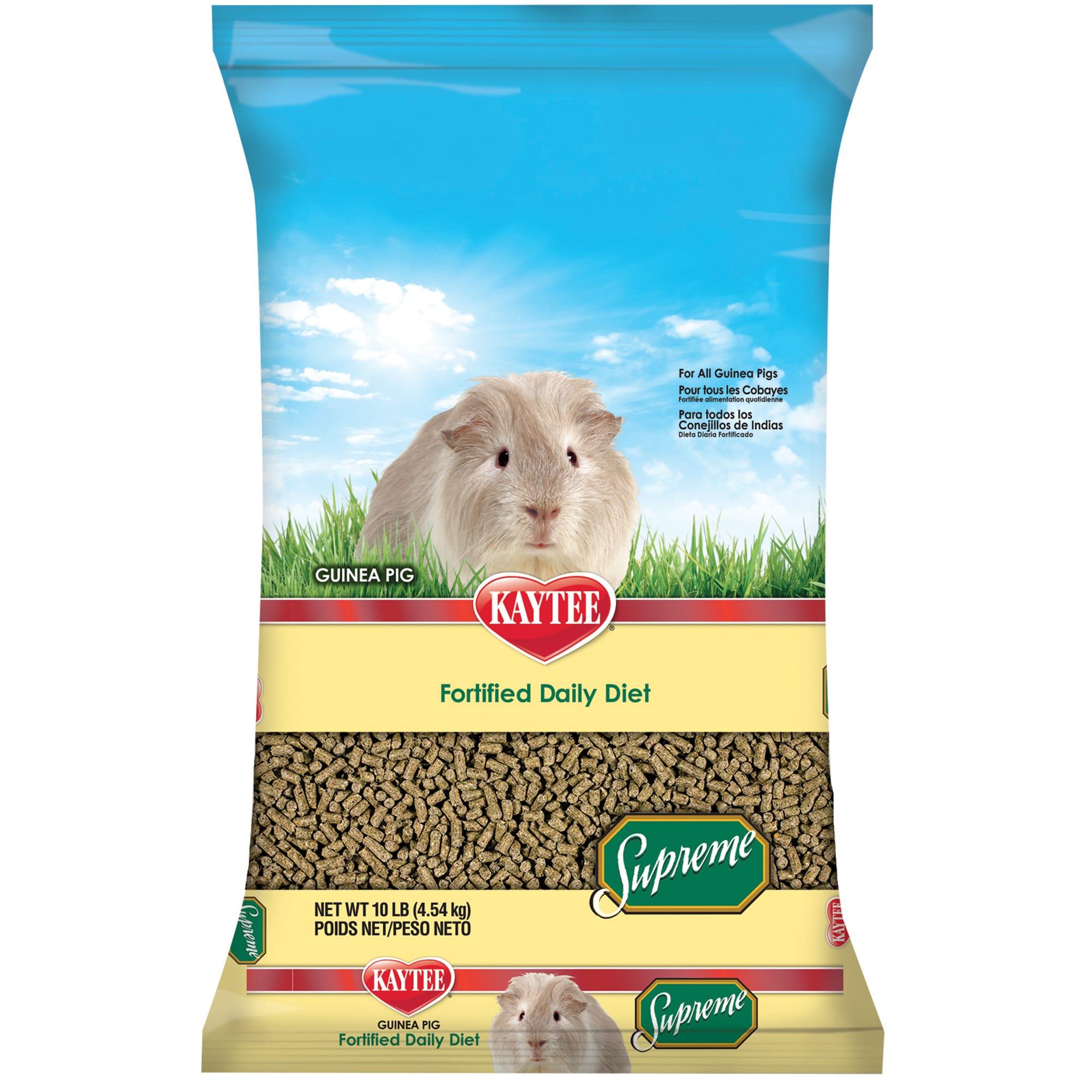 kaytee supreme diet guinea pig food ingredients