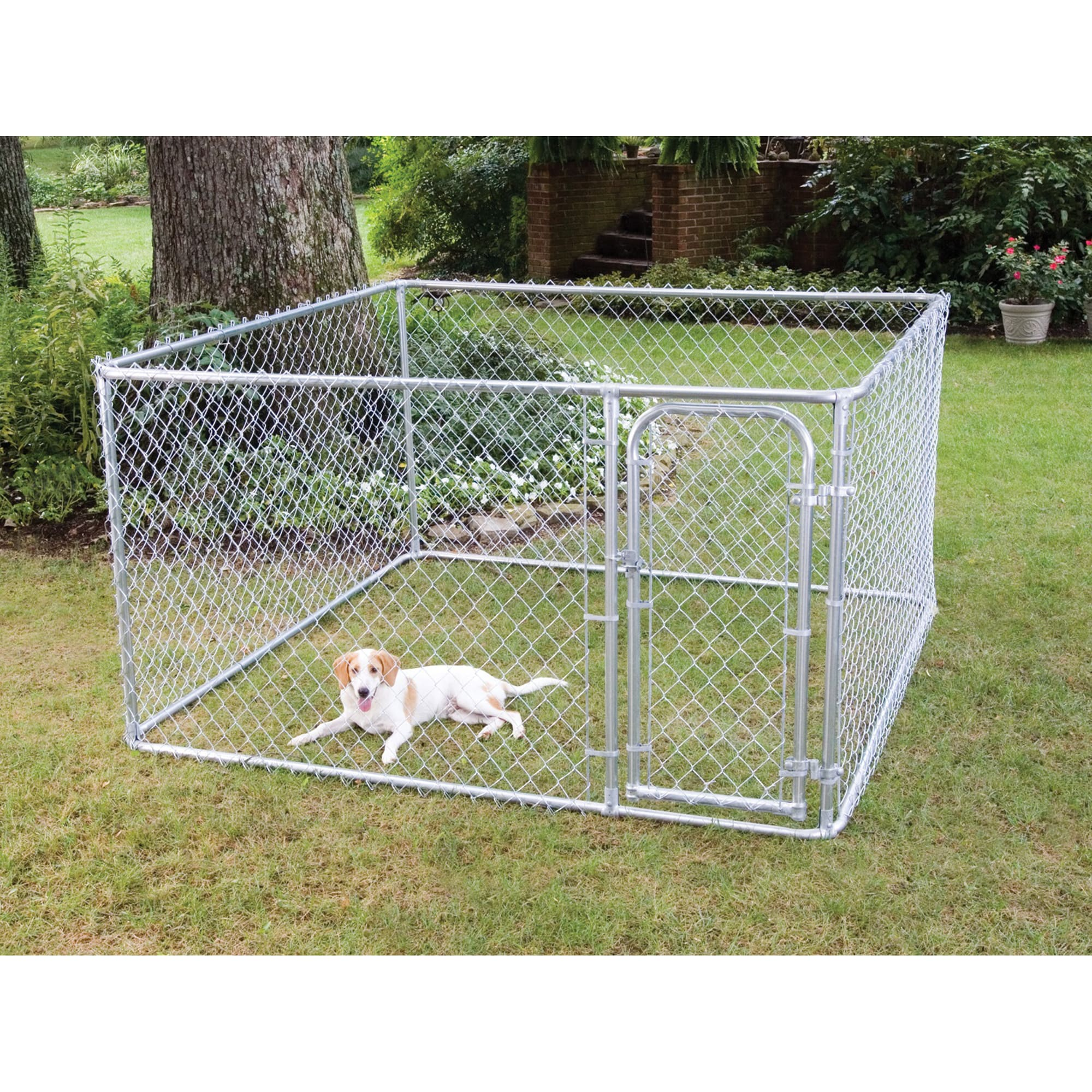 Fencemaster Do It Yourself Chain Link Kennel Petco
