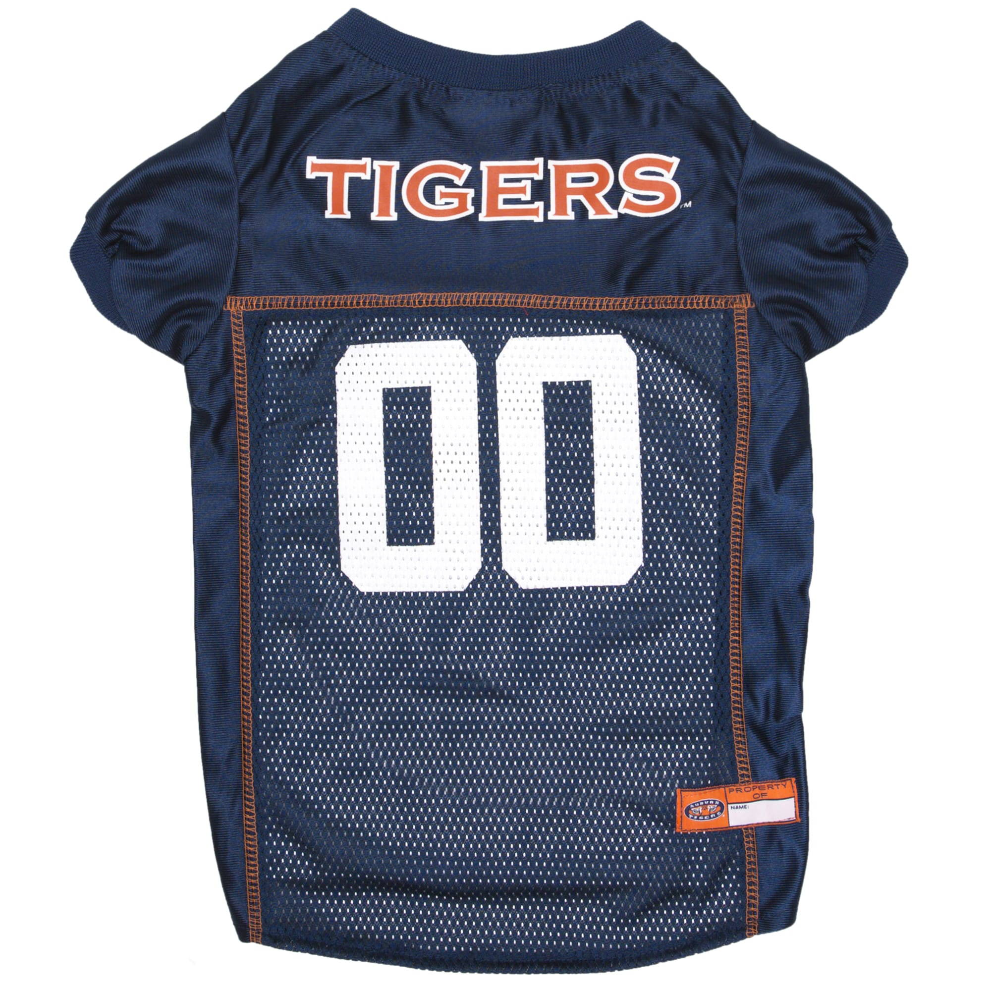 Pets First Auburn Tigers NCAA Mesh Jersey for Dogs, X-Small