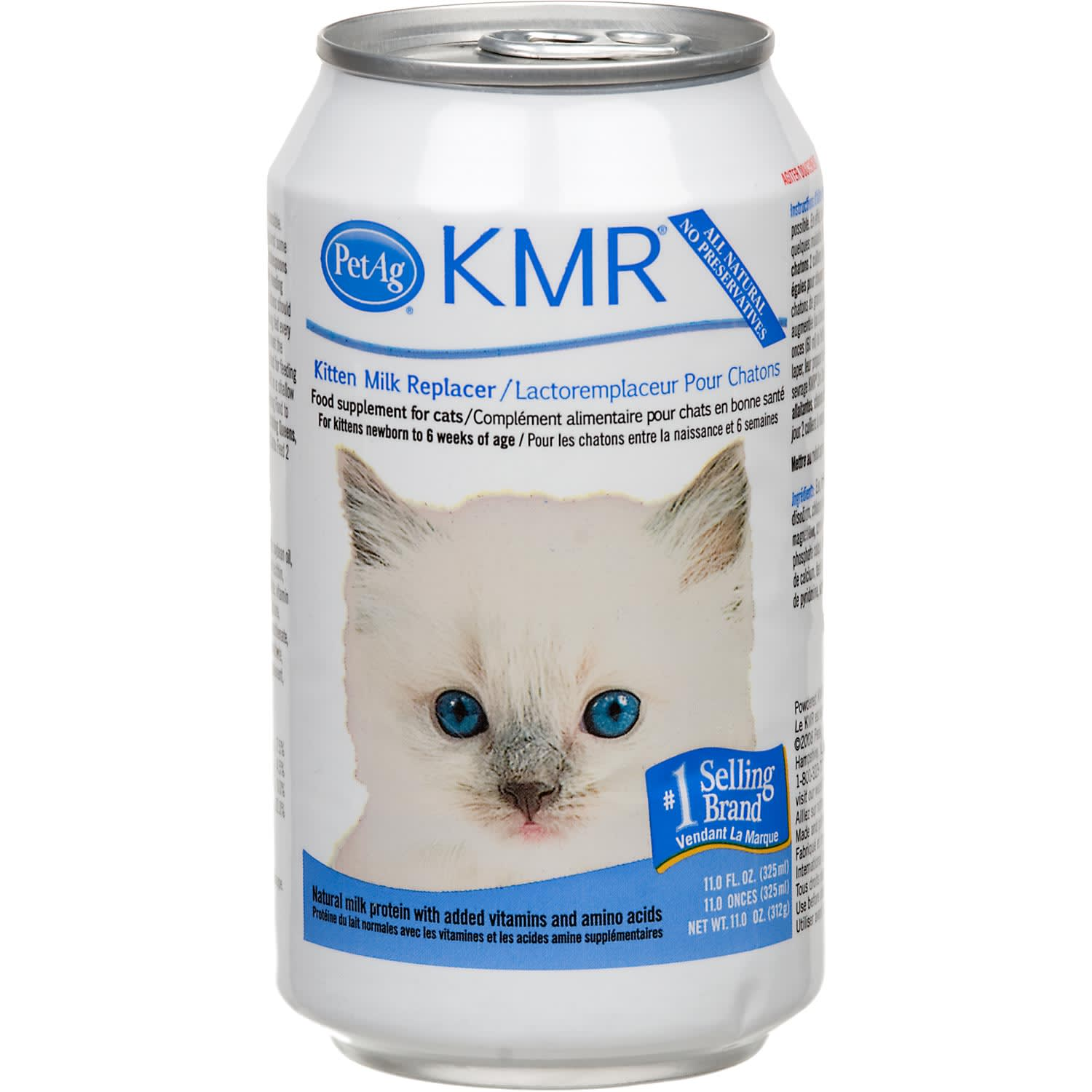 Petag Kmr Kitten Milk Replacer Liquid 11 Oz Petco